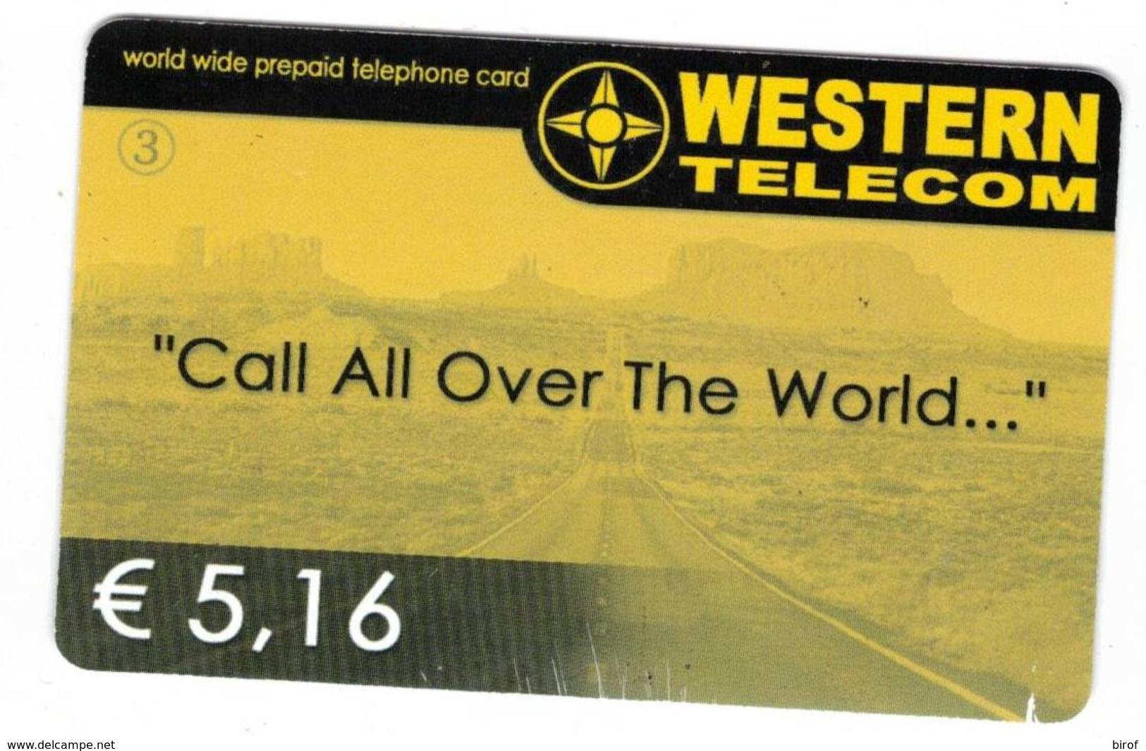 TESSERA WESTERN € 5.16 (  ) - Altri – America