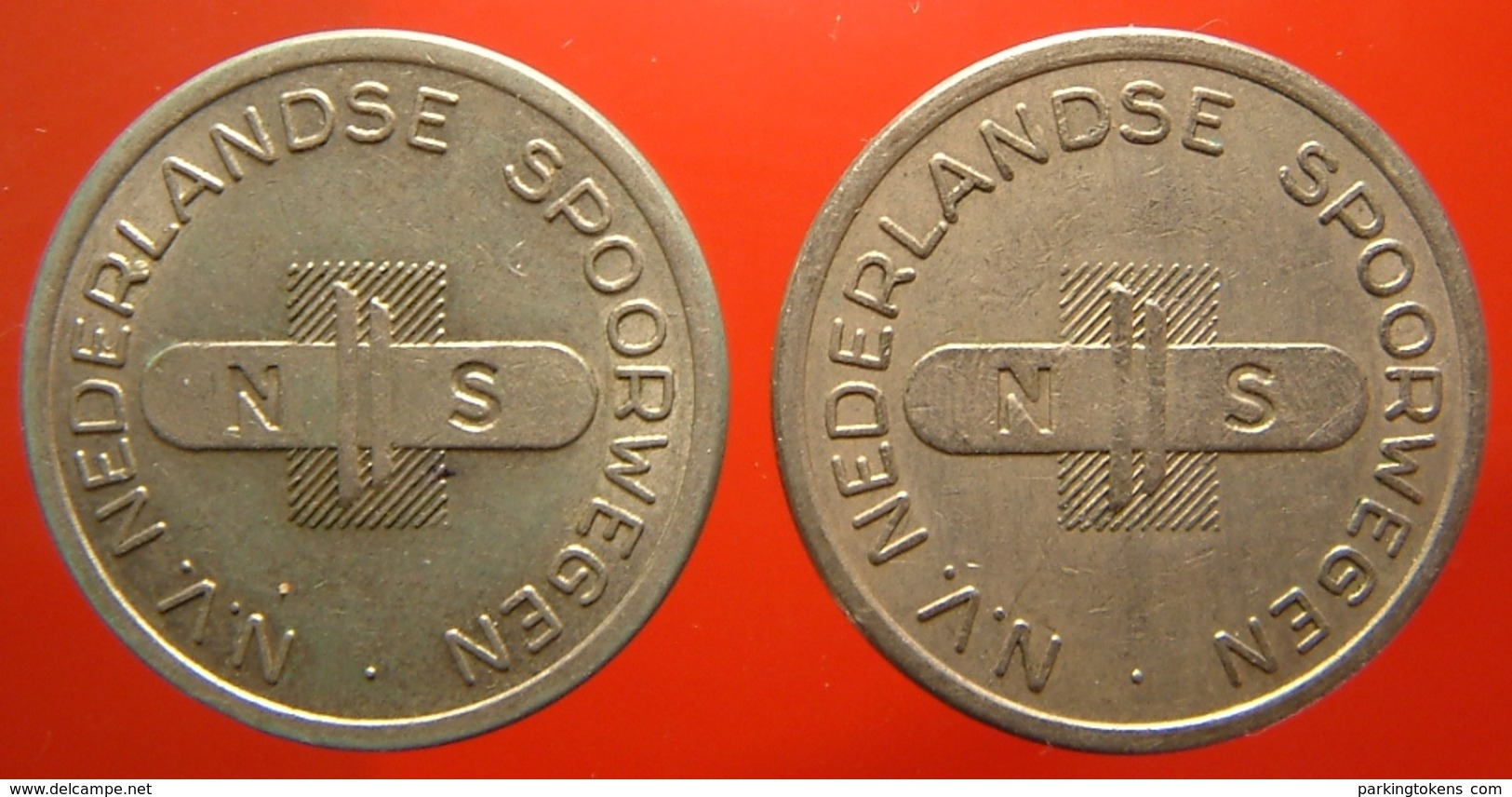 KB311-2 - NS N.V. NEDERLANDSE SPOORWEGEN - Utrecht - WM 22.5mm - Coffee Machine Token - Railways - Eisenbahnen - Firma's