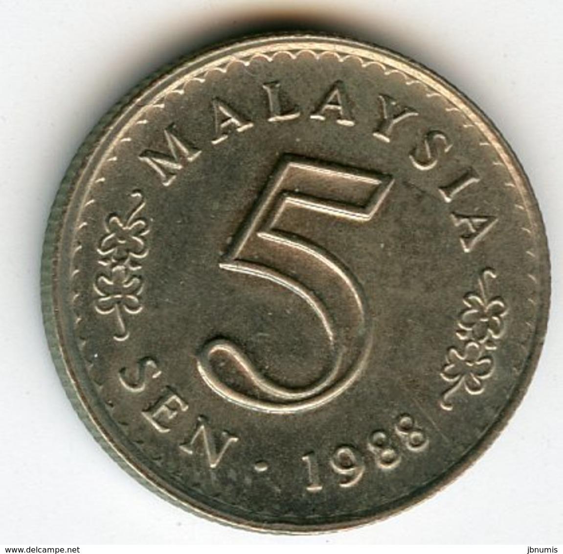 Malaysie Malaysia 5 Sen 1988 KM 2 - Malaysie