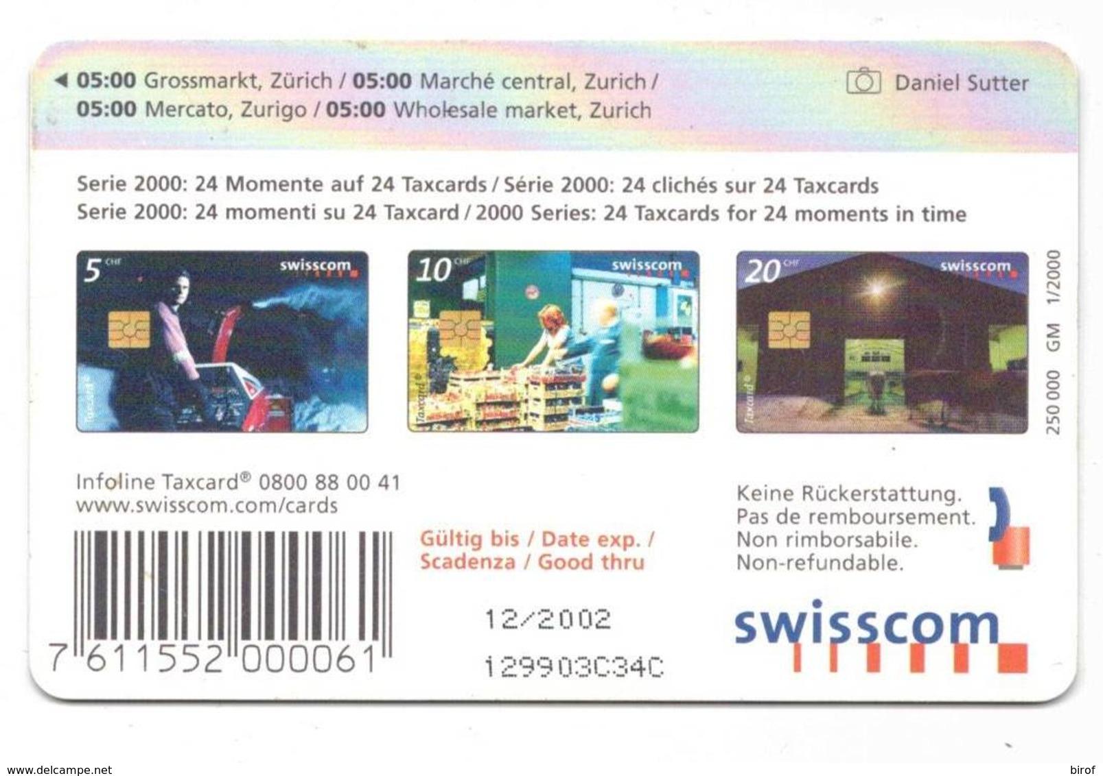 TESSERA TAXCARD 10 CHF  ( SVIZZERA ) - Svizzera