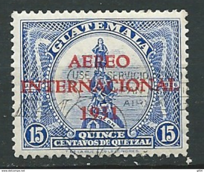 Guatemala - Aérien   - Yvert N°  15 Oblitéré   -  Po 62111 - Guatemala