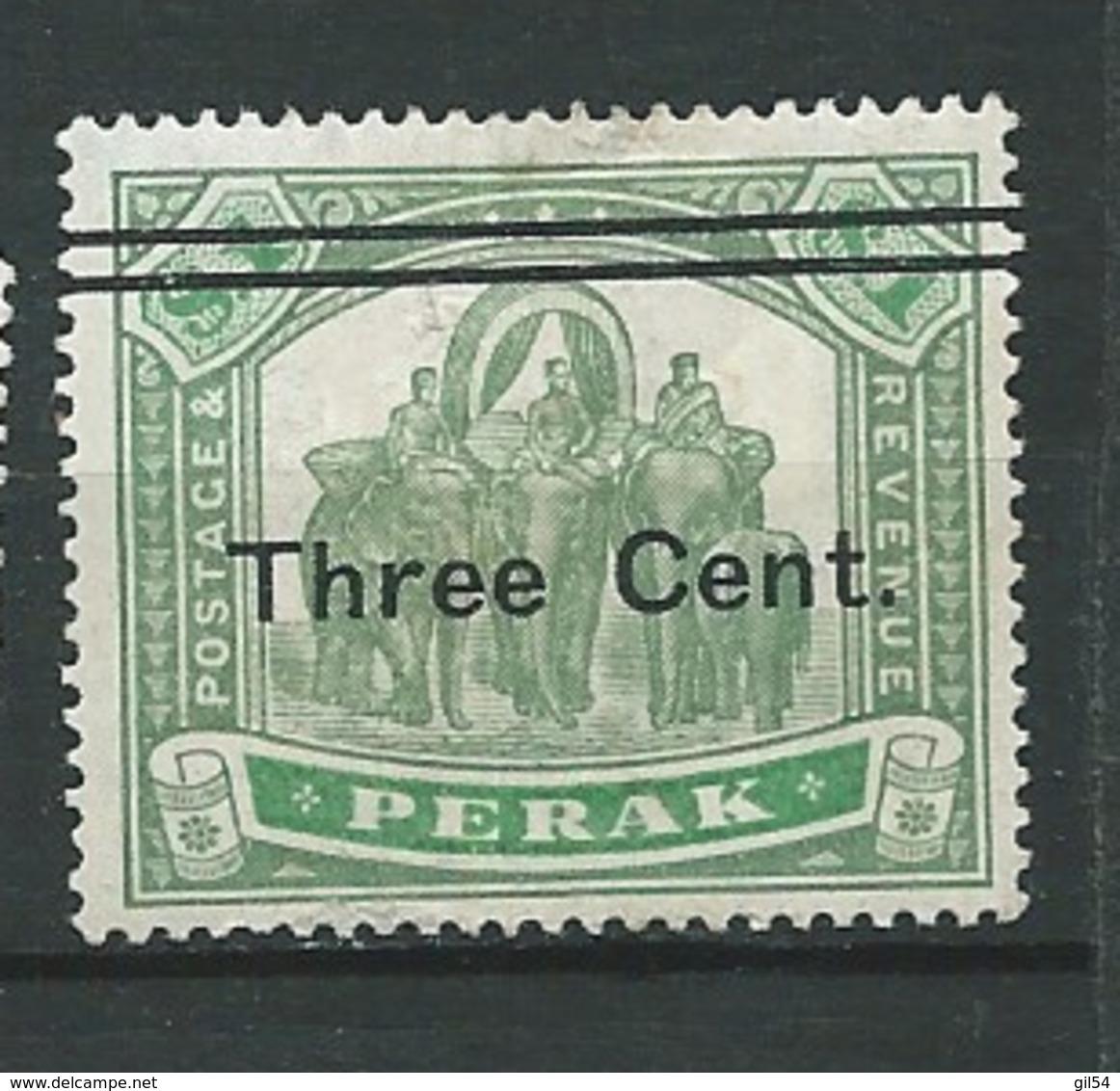 Perak  - Yvert N°  38 (*)   -  Po 62132 - Perak
