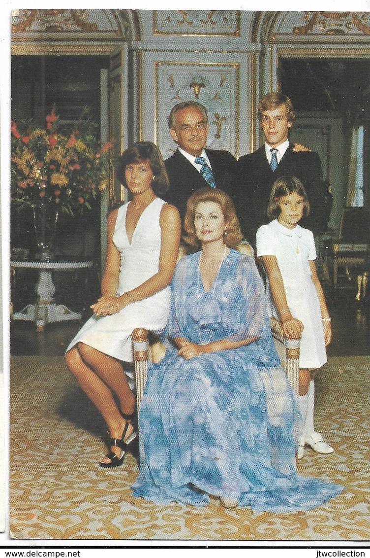 Famiglia Reale Di Monaco - Non Viaggiata - Familles Royales
