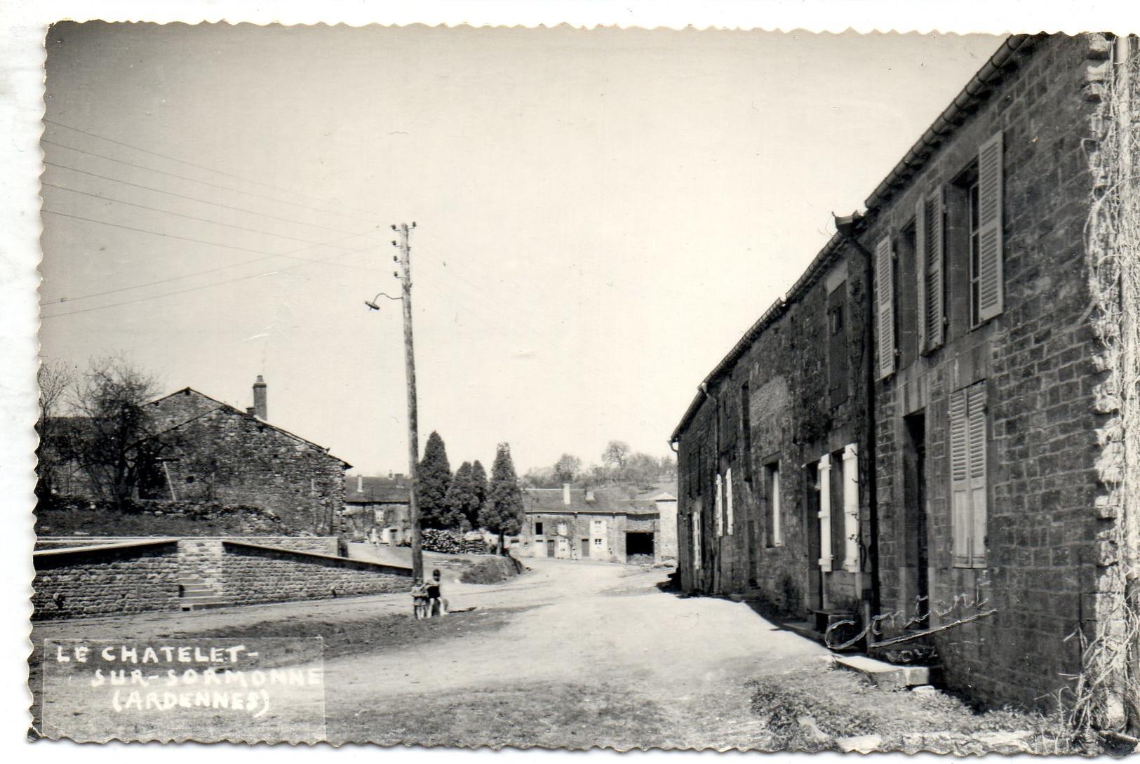 Le Chatelet Sur Sormonne - France
