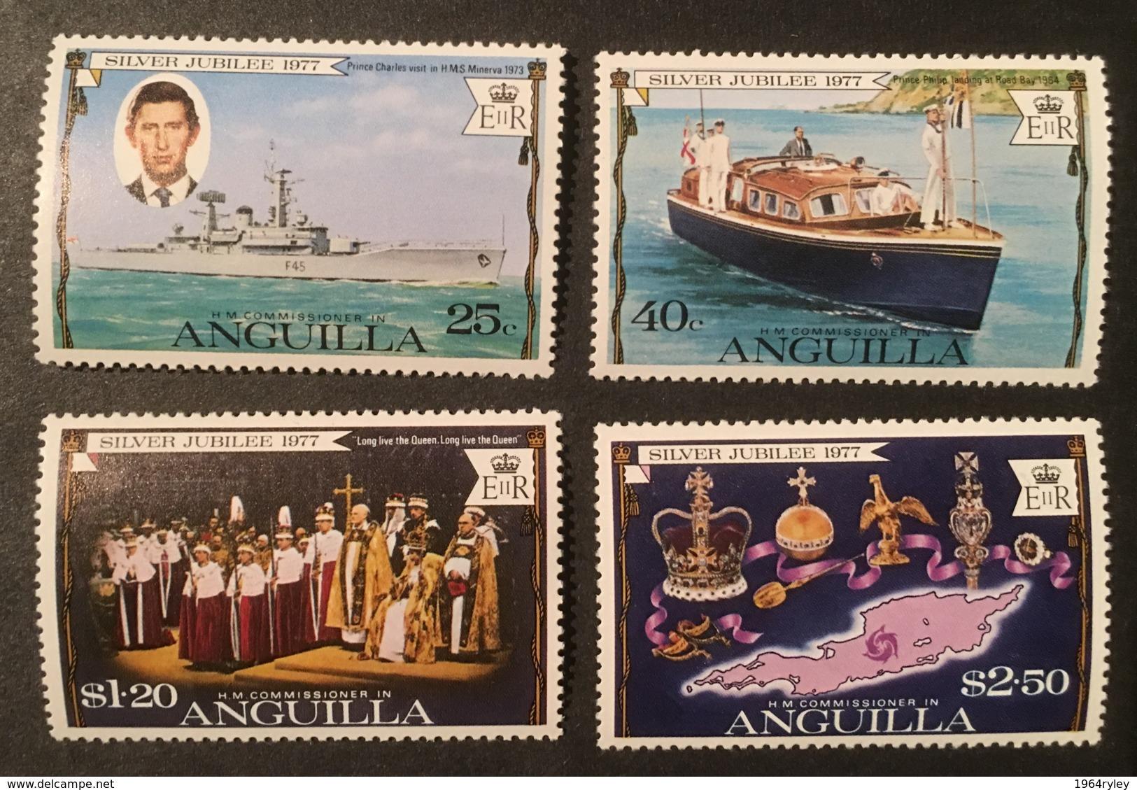ANGUILLA - MNH** - 1977 - # 271/274 - Anguilla (1968-...)