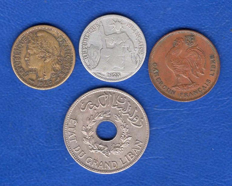 France  Colonie  4  Pieces - Colonies