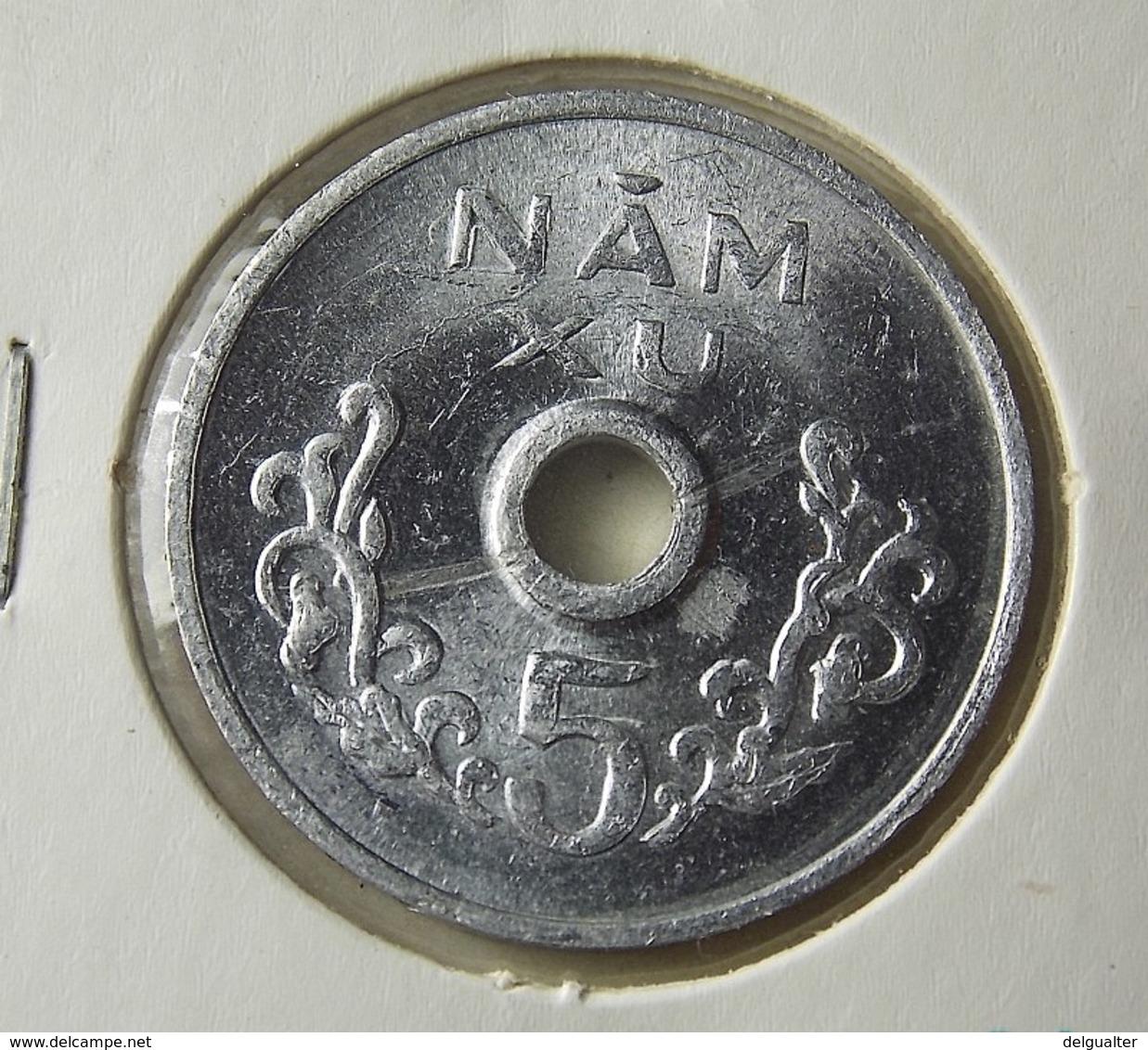 Vietnam 5 Xu 1975 Varnished - Viêt-Nam