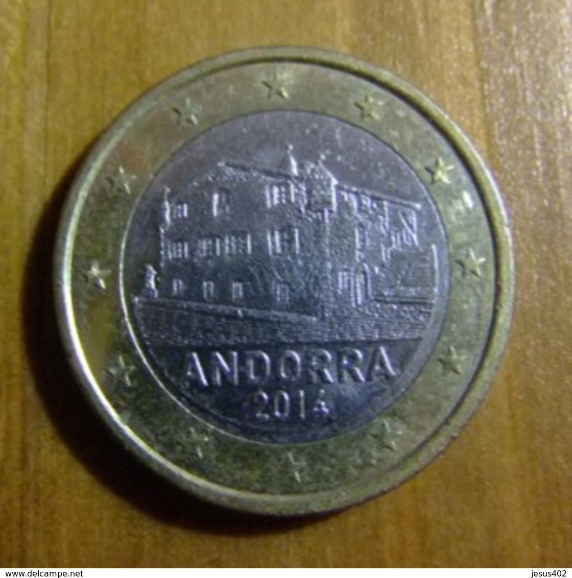 ANDORRA / ANDORRE 1 EUROS 2016  La Casa De La Vall - Andorra
