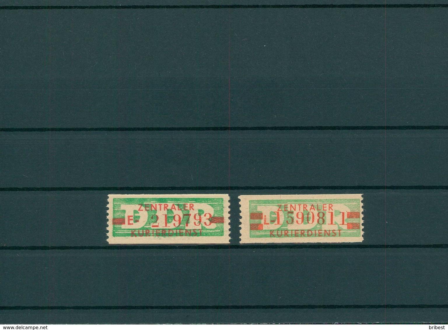 DDR 1959 ZKD Nr 30-31 Postfrisch (200219) - Dienstpost