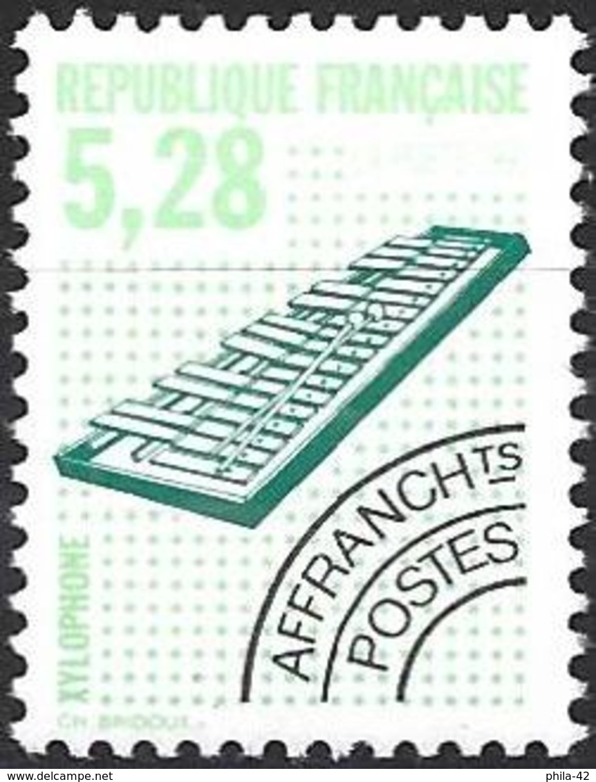 France 1992 - Mi 2879A - Y&T 221 ( Musical Instruments : Xylophone ) MNH ** - 1989-....