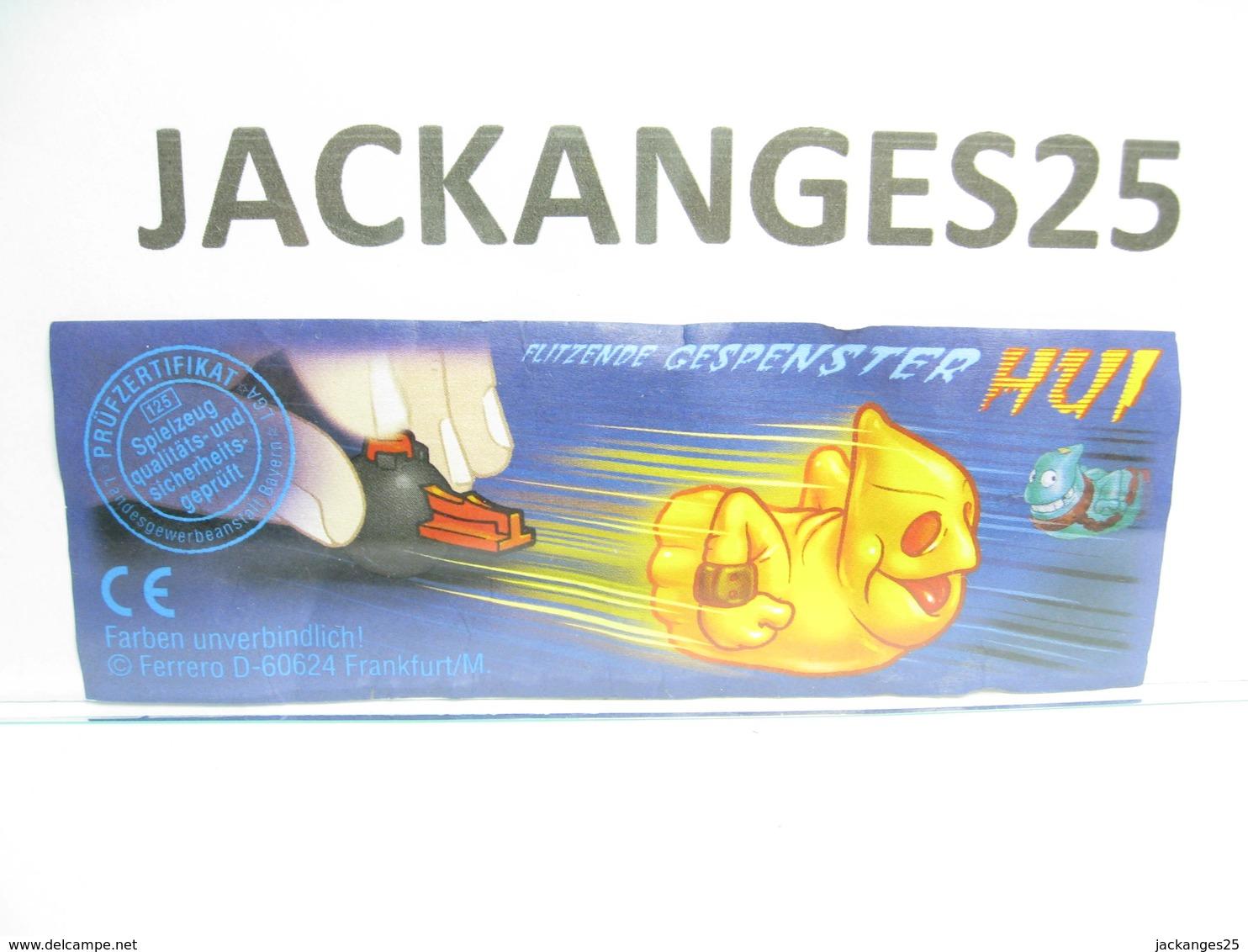 KINDER ALLEMAND HALLOWEEN 610354 2001 + BPZ D - Mountables
