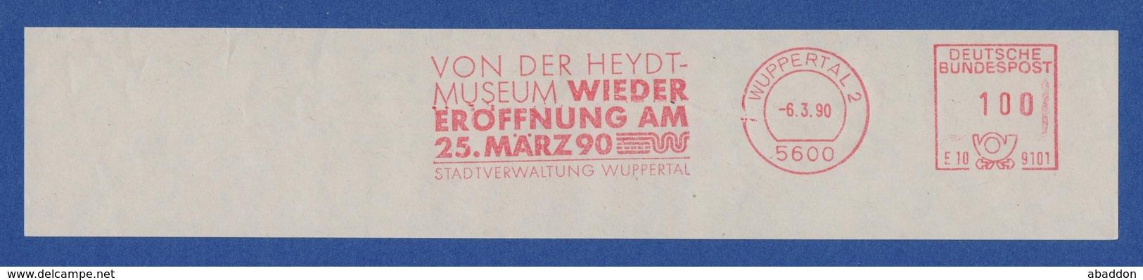 BRD AFS - WUPPERTAL, Von Der HEYDT-MUSEUM - Wiedereröffnung Am 25.März 90 1990 - Musées