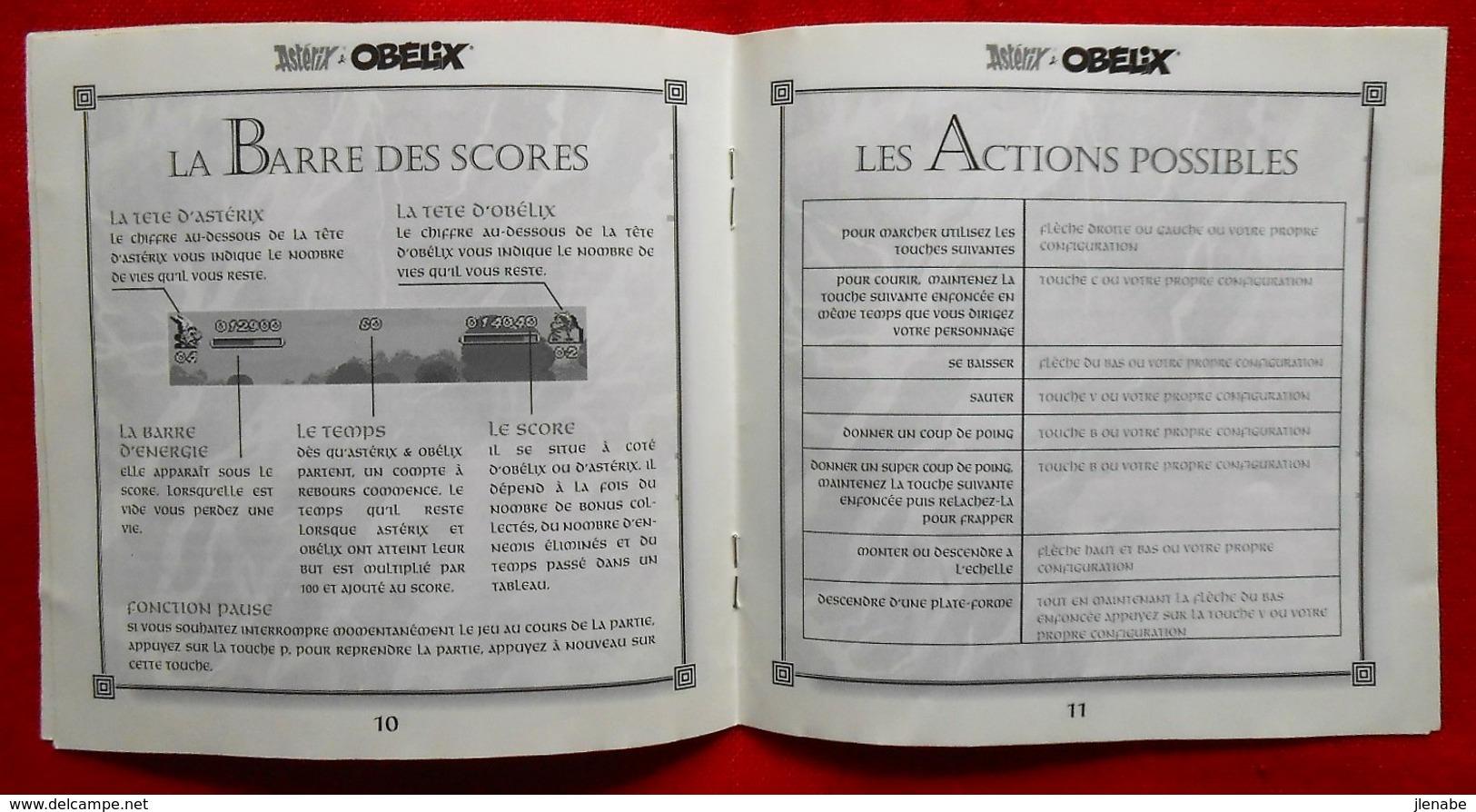 Asteix Et Obelix Jeu Pour PC Infogrammes 1996/1999 - Disques & CD
