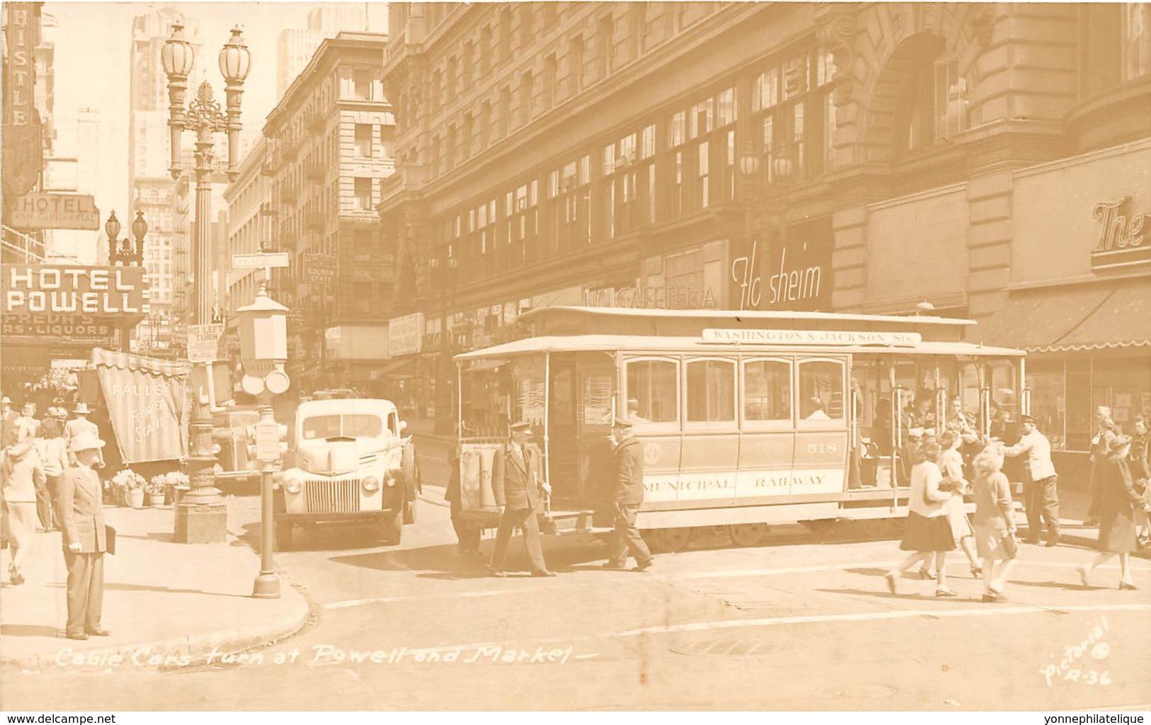 Thèmes - 10344 - Beau Plan Tramway - Photo Card - Tramway - Cartoline