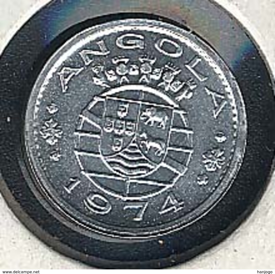 Angola, 10 Centavos 1974, UNC, Rare - Angola