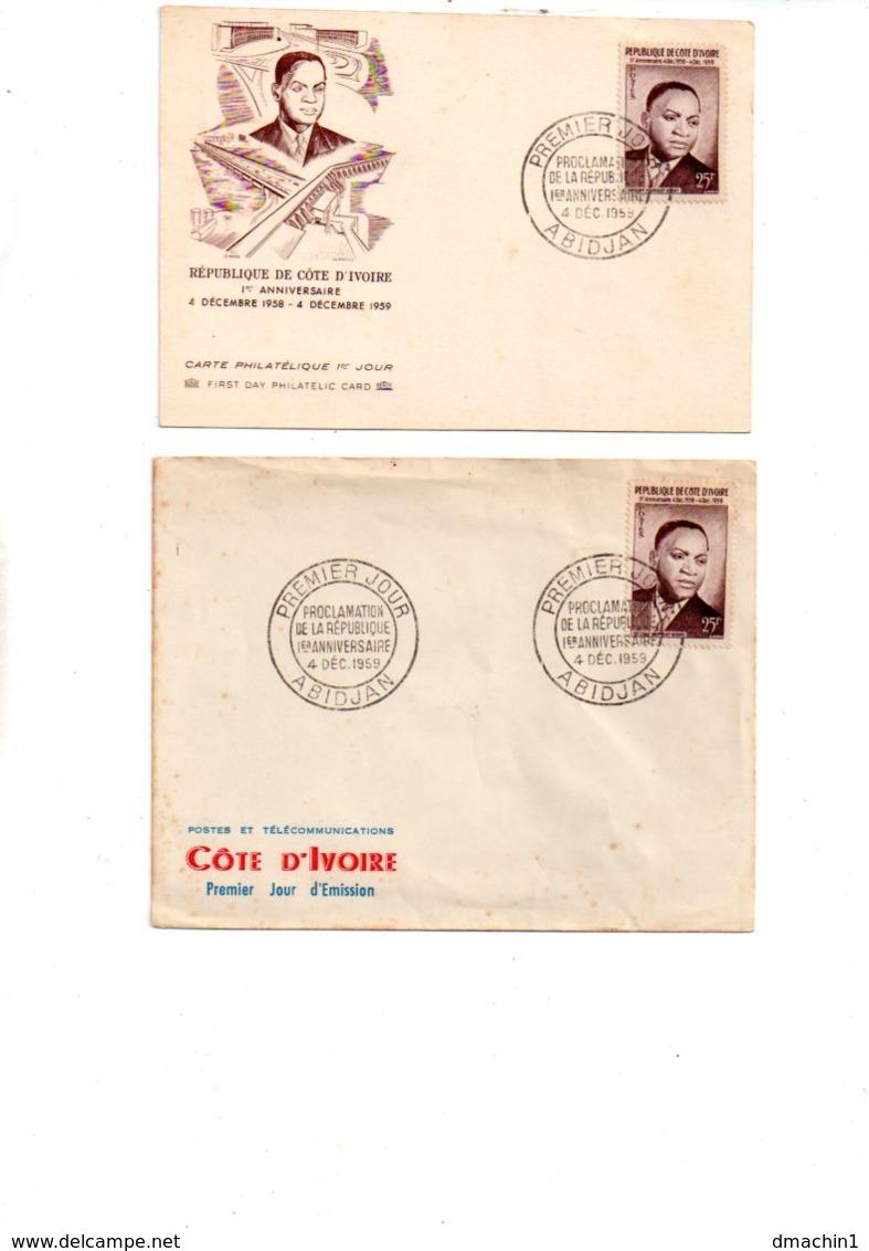 Cote D'Ivoire - Un Lot D'enveloppes Premier Jour -voir état - Ivory Coast (1960-...)