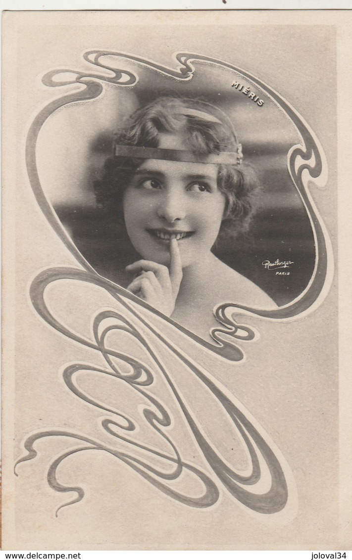 Artiste Femme MIERIS - Photo Reutlinger - Artistes