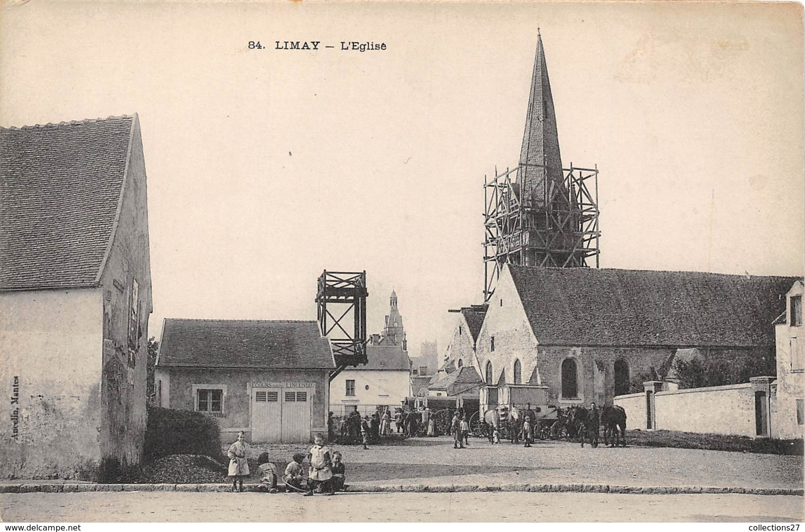 78-LIMAY- L'EGLISE - Limay