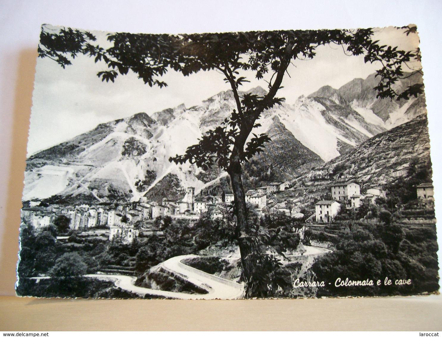 1955 - Massa  Carrara -  Colonnata E Le Cave - Panorama  - Alpi Apuane - Carrara