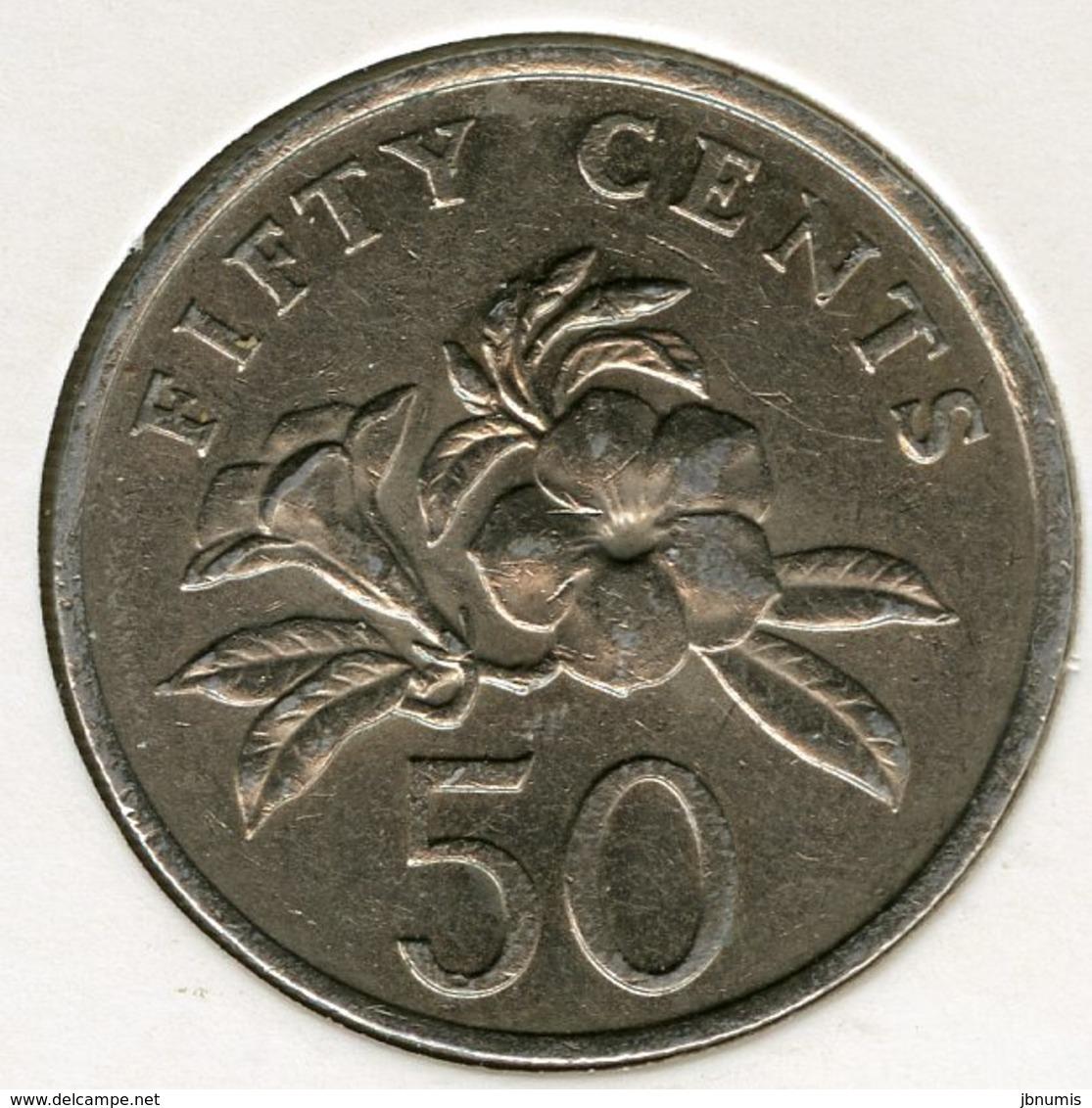 Singapour Singapore 50 Cents 1985 KM 53.1 - Singapour
