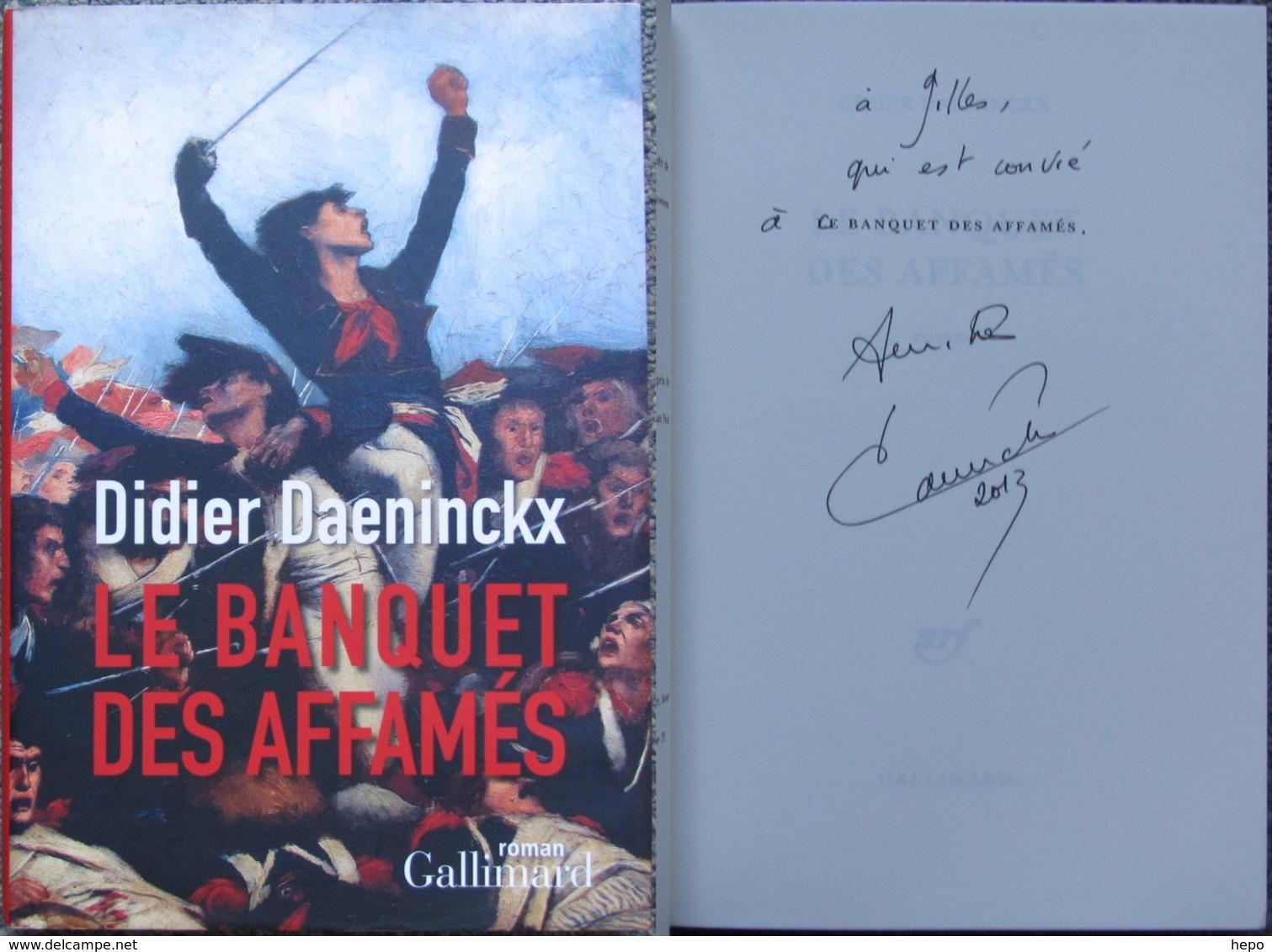 Daeninckx - Le Banquet Des Affamés - Livre / Roman Avec  Envoi / Dedicace Autographe - Livres, BD, Revues