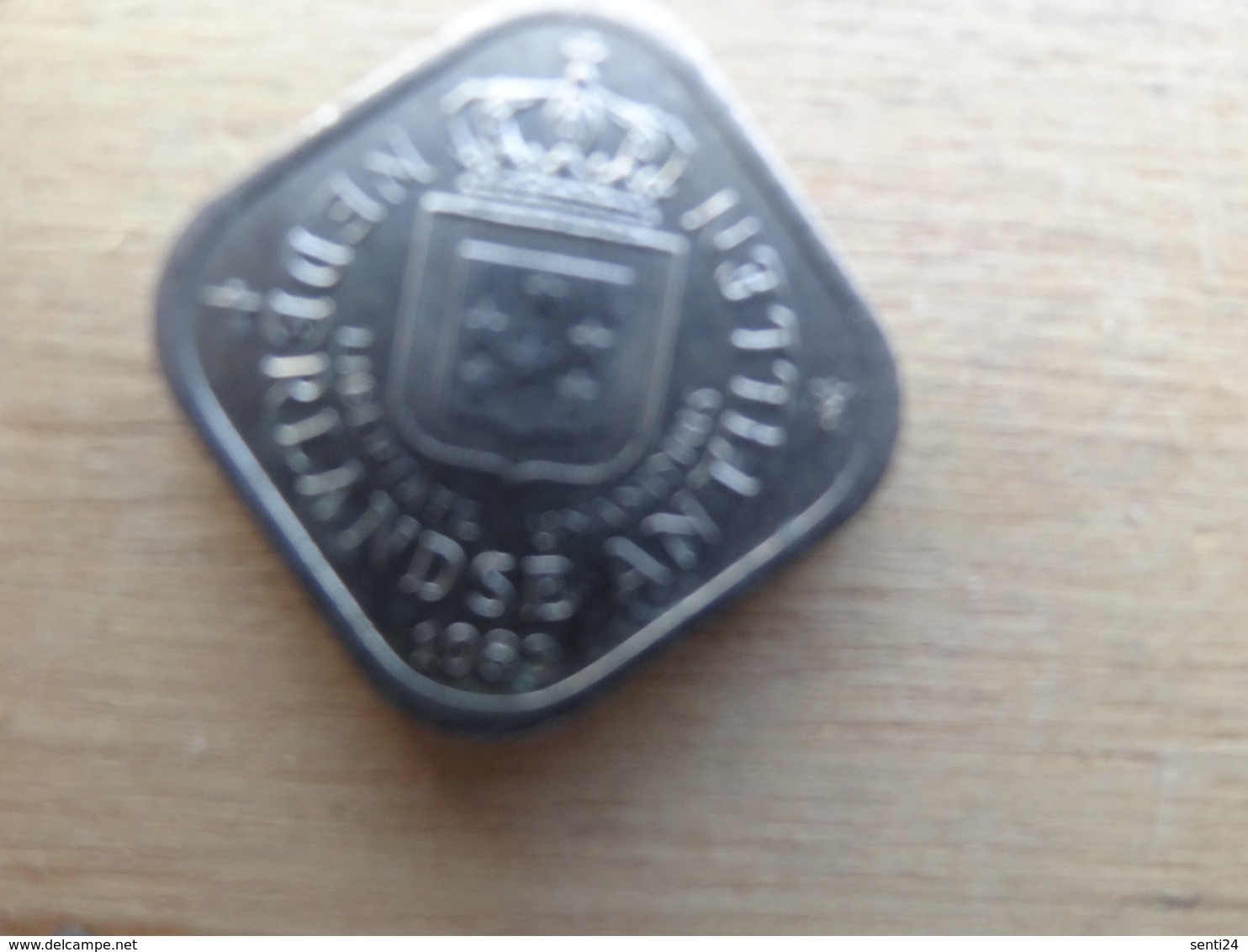 Antilles  Neerlandaises    5  Cents  1983  Km 13 - Netherland Antilles