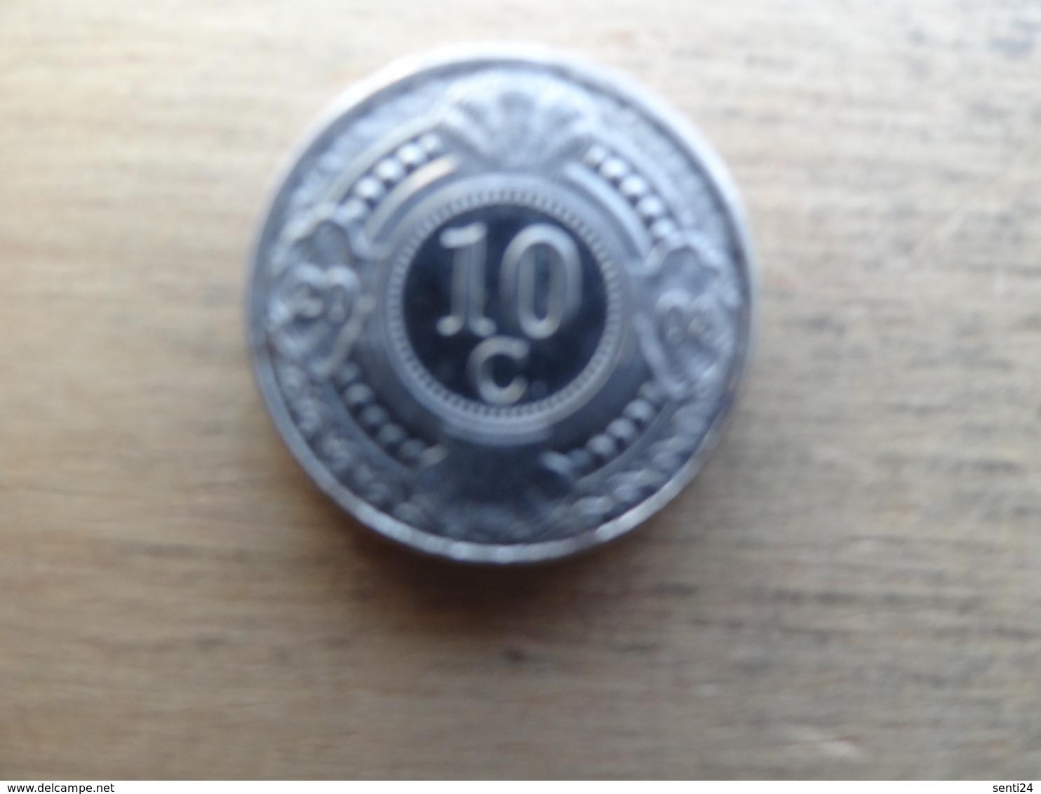 Antilles  Neerlandaises    10  Cents  2008  Km 34 - Antillen (Niederländische)