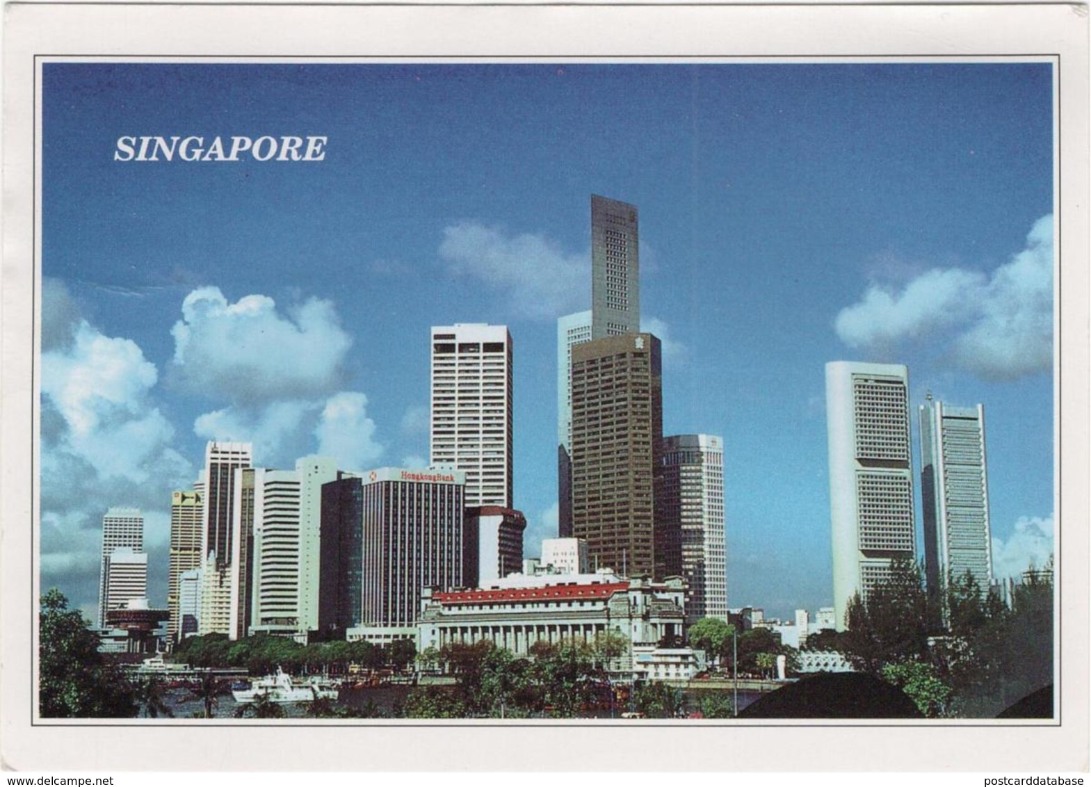 The Commercial District Of Singapore - & Skyscraper - Singapore