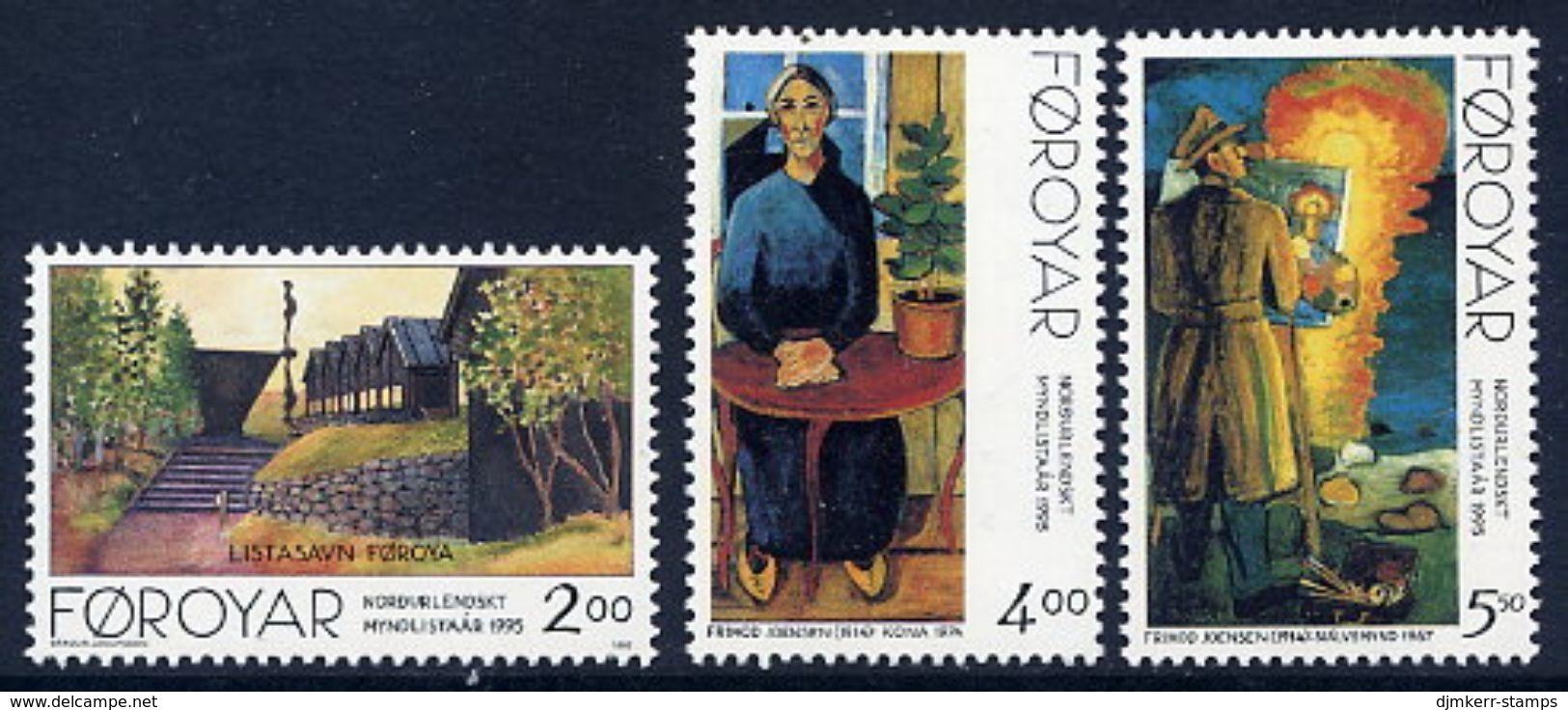 FAROE ISLANDS 1995 Nordic Arists  MNH / **.  Michel 280-82 - Féroé (Iles)