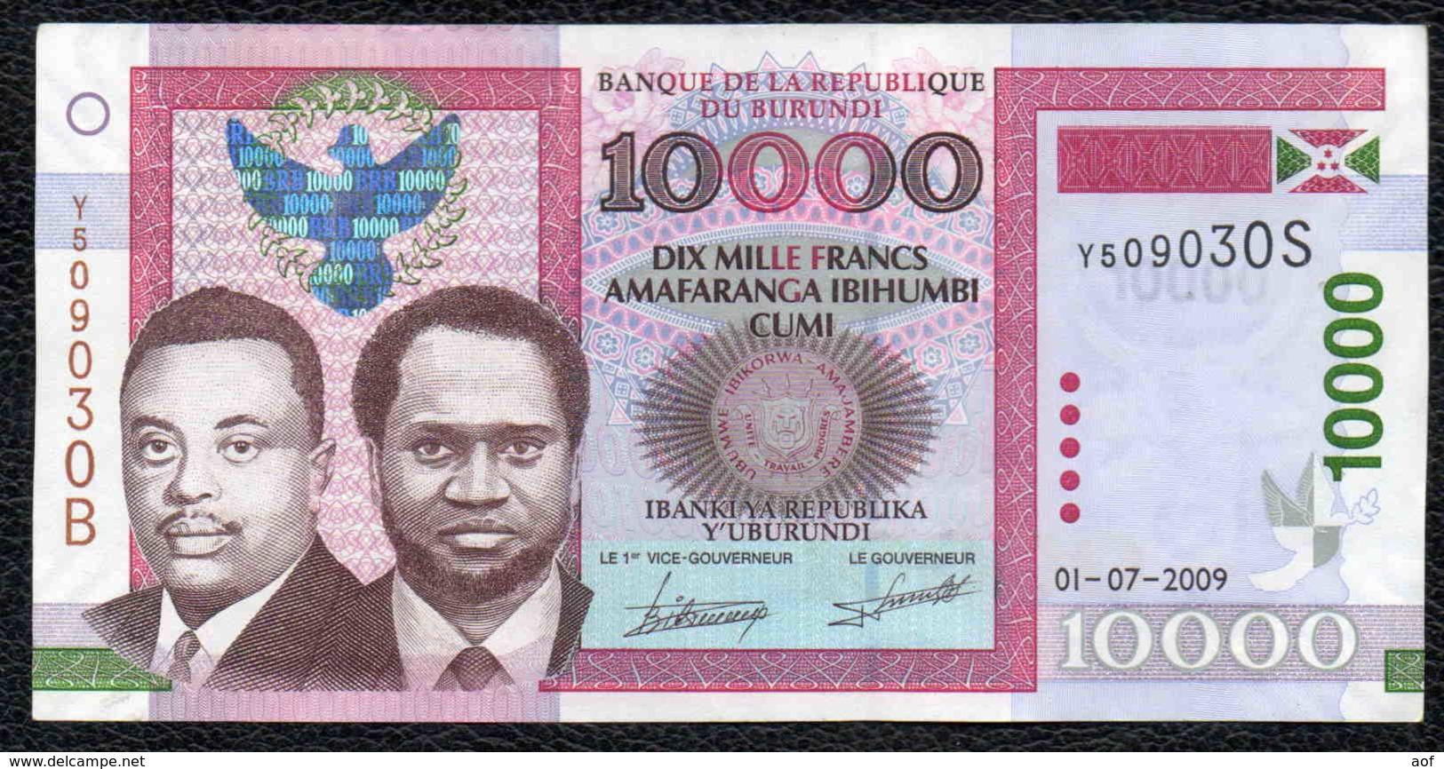 10000 2009 BURUNDI - Burundi