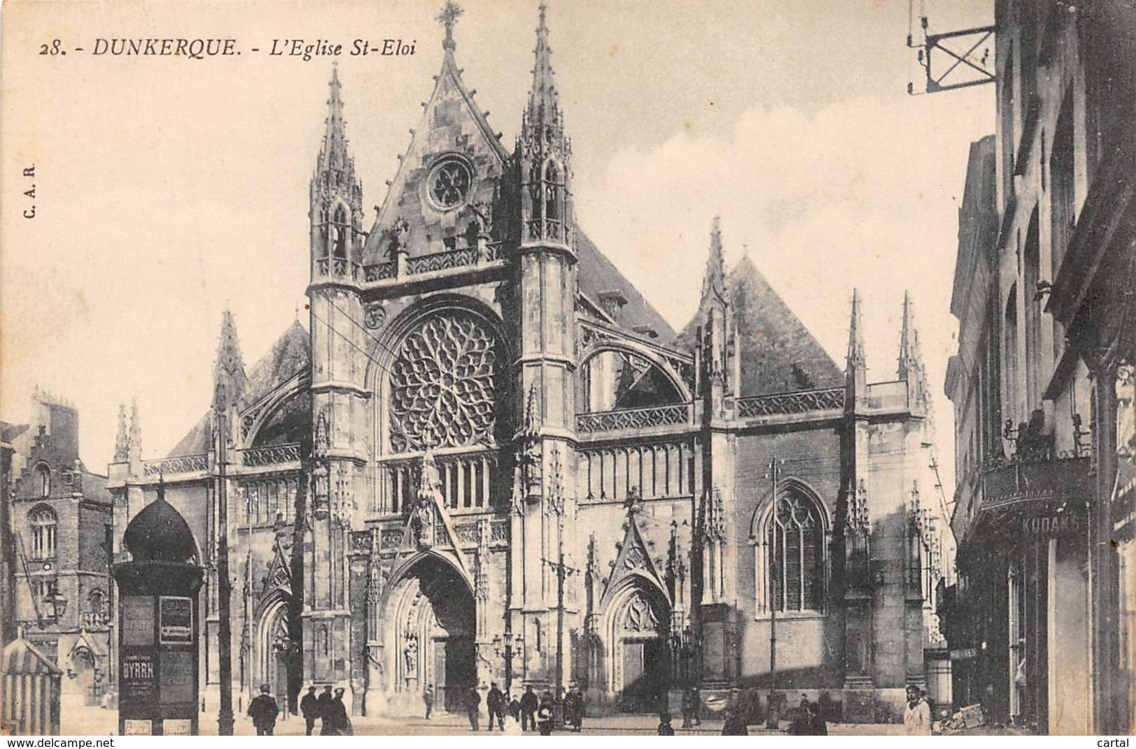 59 - DUNKERQUE - L'Eglise St-Eloi - Dunkerque