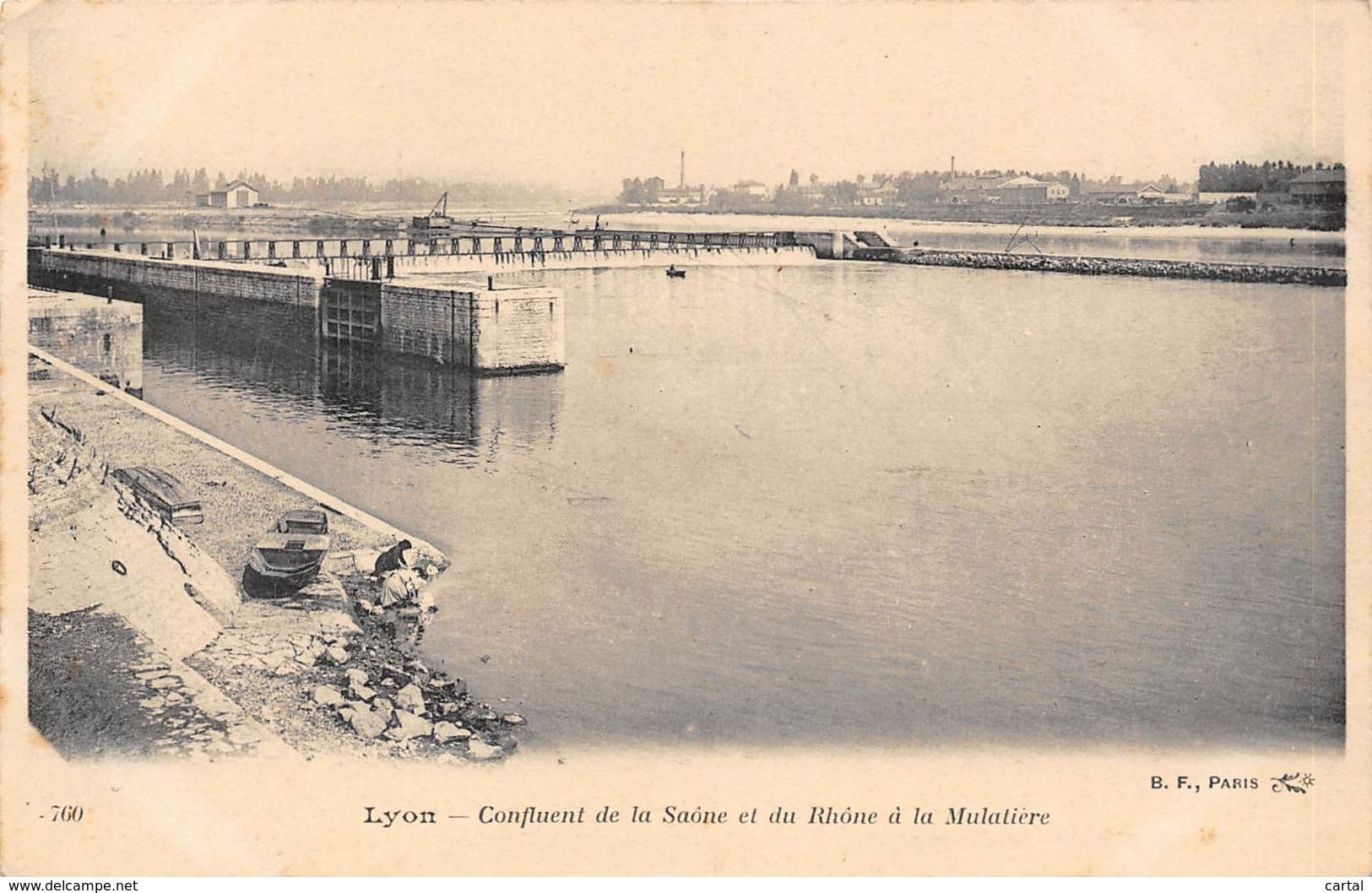 69 - LYON - Confluent De La Saône Et Du Rhône à La Mulatière - Autres