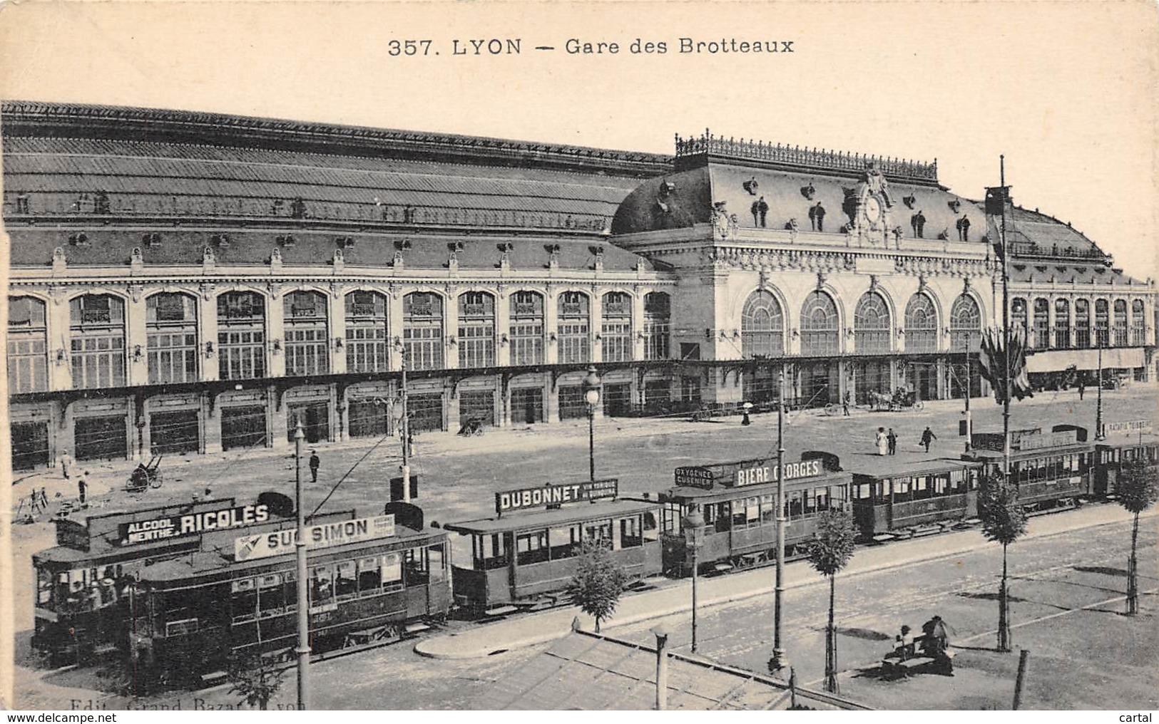 69 - LYON - Gare Des Brotteaux - Lyon