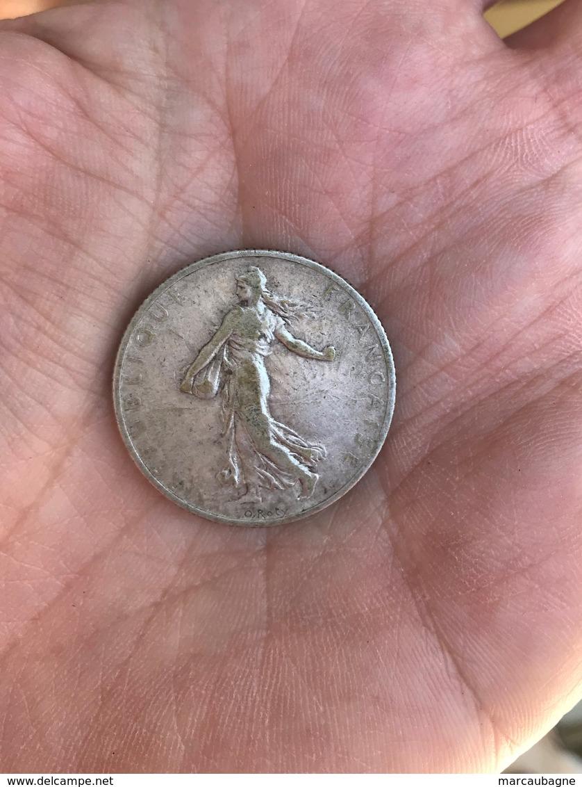 1 Piéce Argent 2 Francs Année 1899 -   9,8 Grammes - France