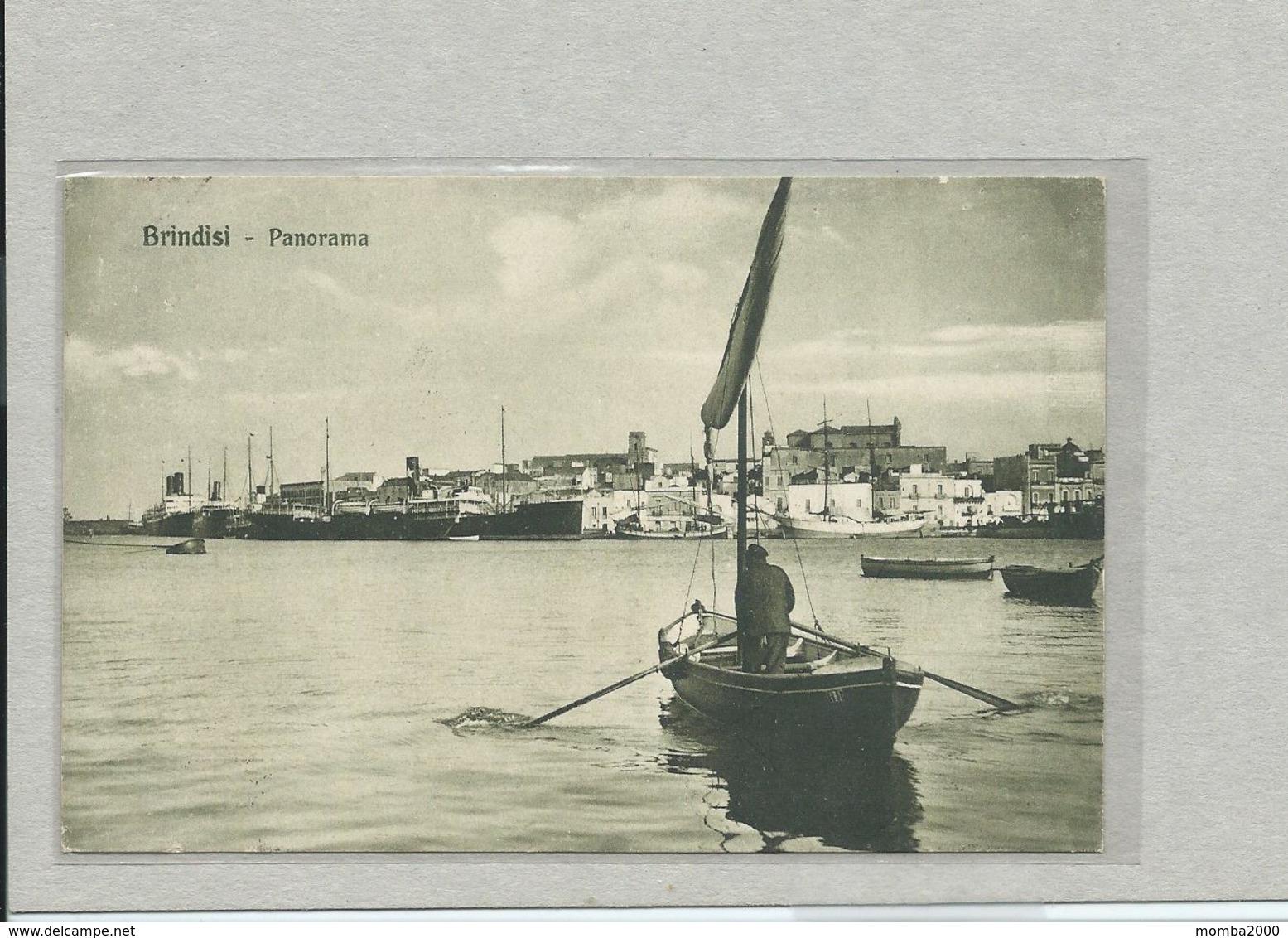 BRINDISI -  Panorama  - Viaggiata 1914!!! - Brindisi