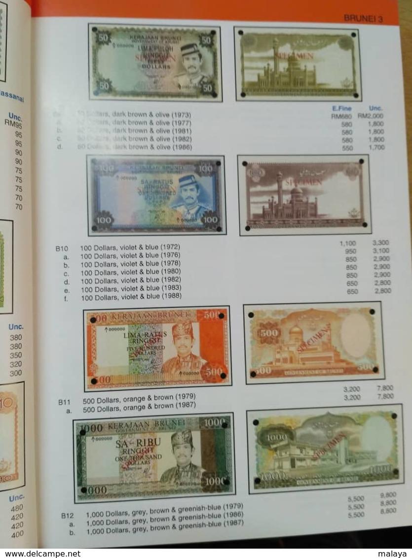 Malaysia Malaya Singapore Sarawak Brunei Straits Borneo Japanese Occ Coin Paper Money Bank Notes Catalogue Book Photo - Brunei