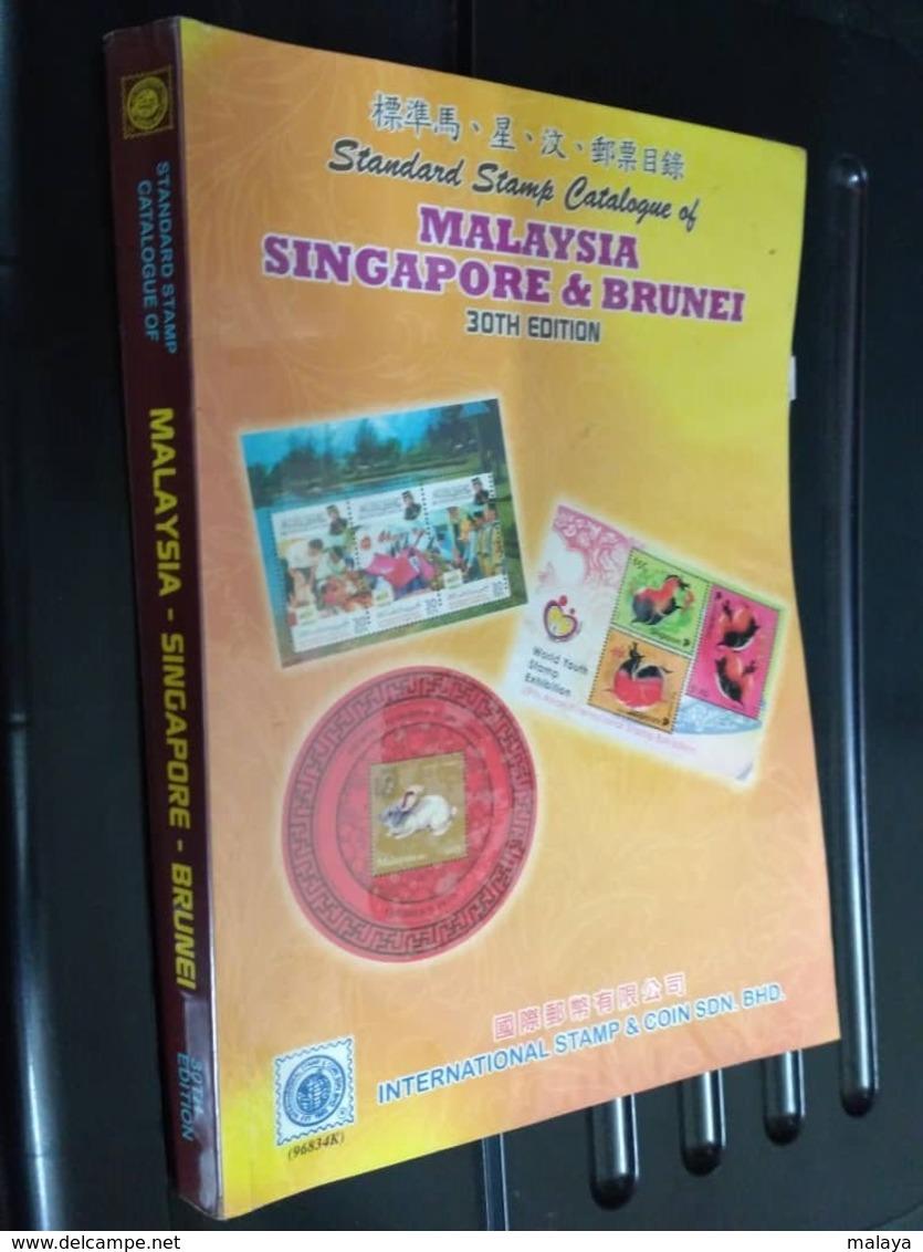 Malaysia Malaya Singapore Sarawak Brunei Straits Borneo Japanese Occ Stamp Stamps Catalogue Book Photo 1867-2015 - Brunei