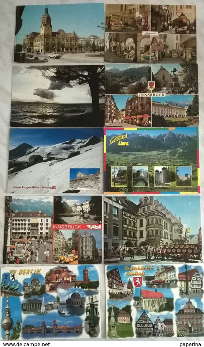 10 CART. EUROPA   (507) - Cartoline