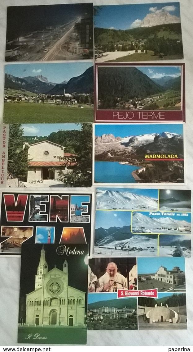 10 CART. ITALIA    (514) - Cartoline