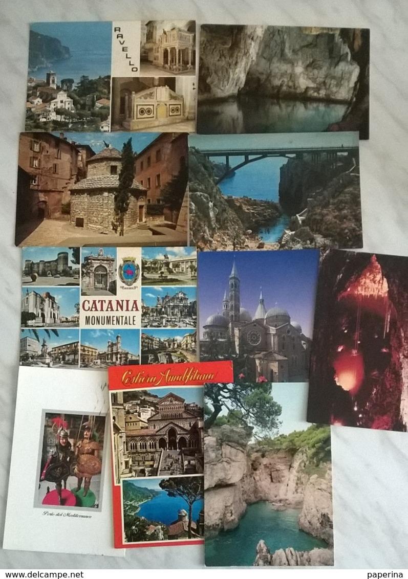 10 CART. ITALIA    (521) - Cartoline