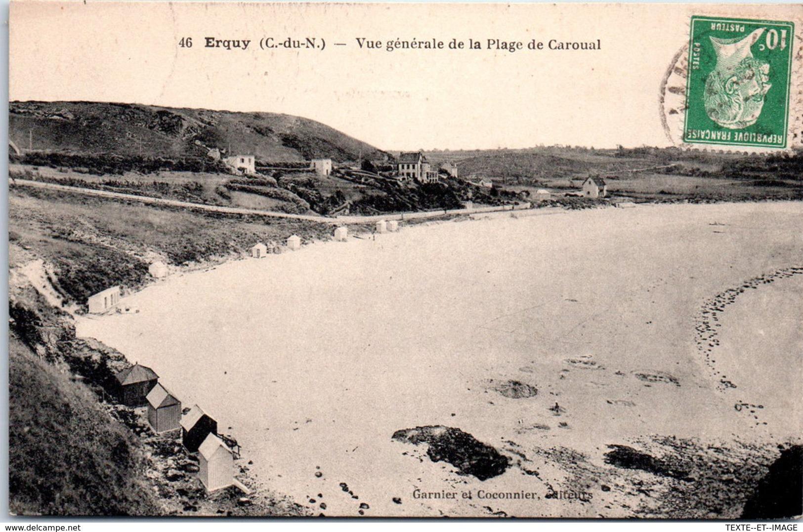 22 ERQUY - Vue Générale De La Plage De Caroual - Erquy