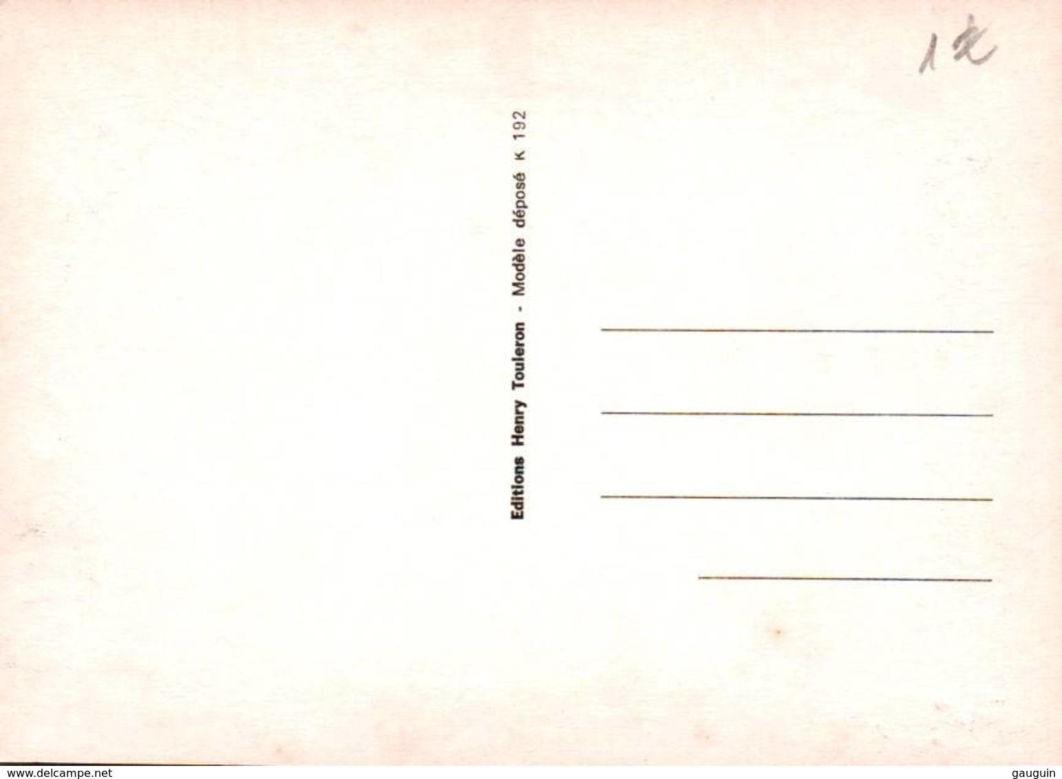 CPM - ILLUSTRATION H.TOULERON - Thème BRETAGNE - Bretagne