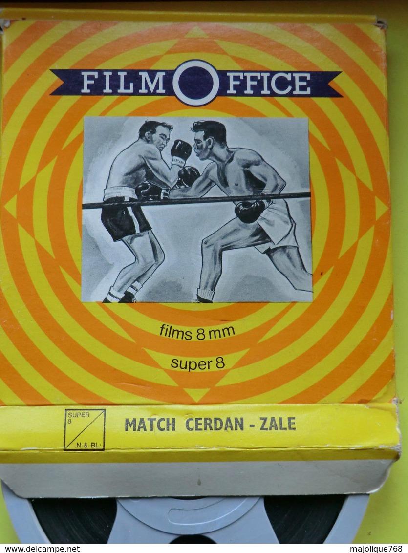 Film Office- Match CERDAN Contre ZALE- Super 8 - N & BL - Pellicole Cinematografiche: 35mm-16mm-9,5+8+S8mm