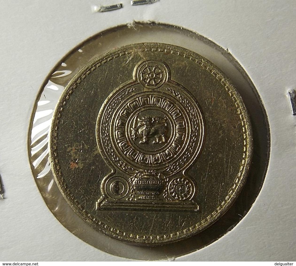 Sri Lanka 5 Rupees 1984 Varnished - Sri Lanka