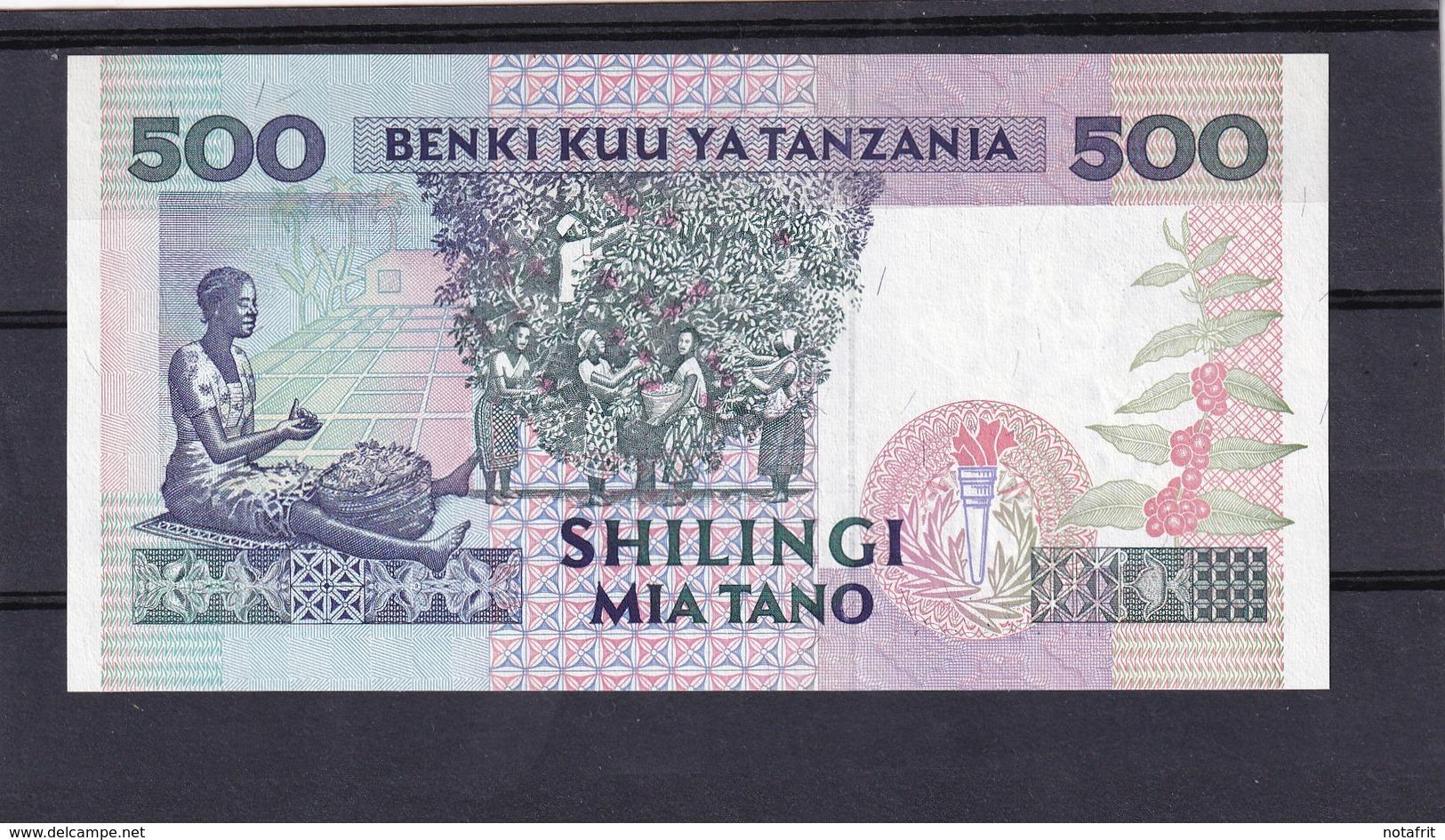 Tanz 500 Shillings  UNC - Tanzania