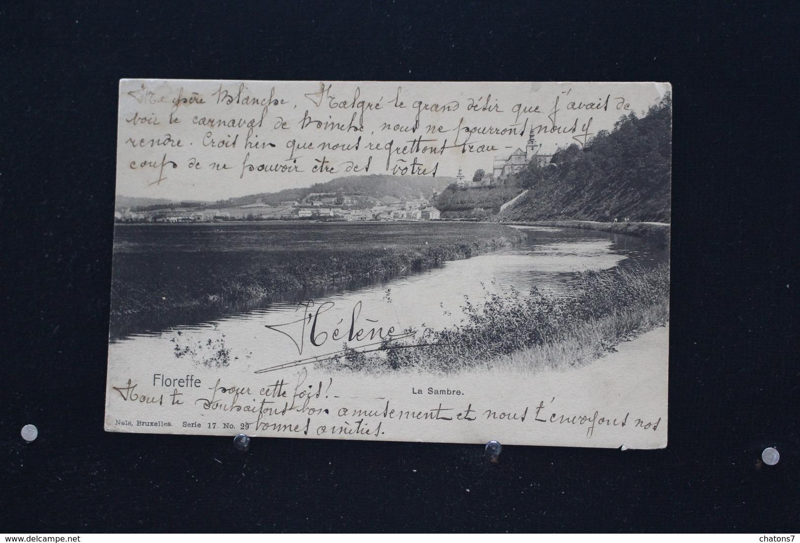 M/o -269 / Namur - Floreffe, La Sambre  / Circulé 1905 - Floreffe