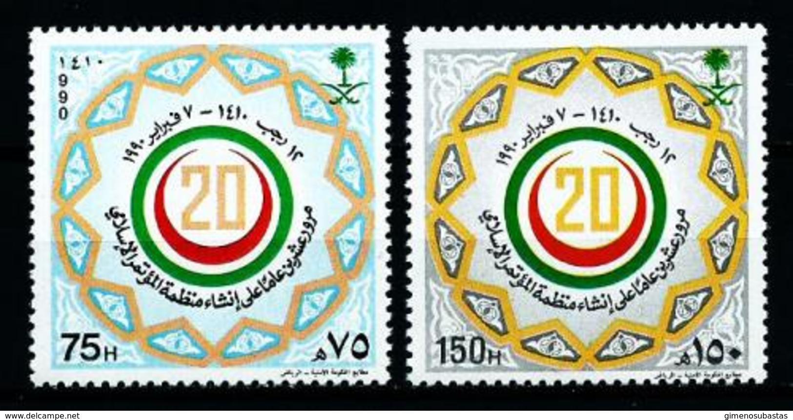 Arabia Saudita Nº 752/3 En Nuevo - Arabia Saudita