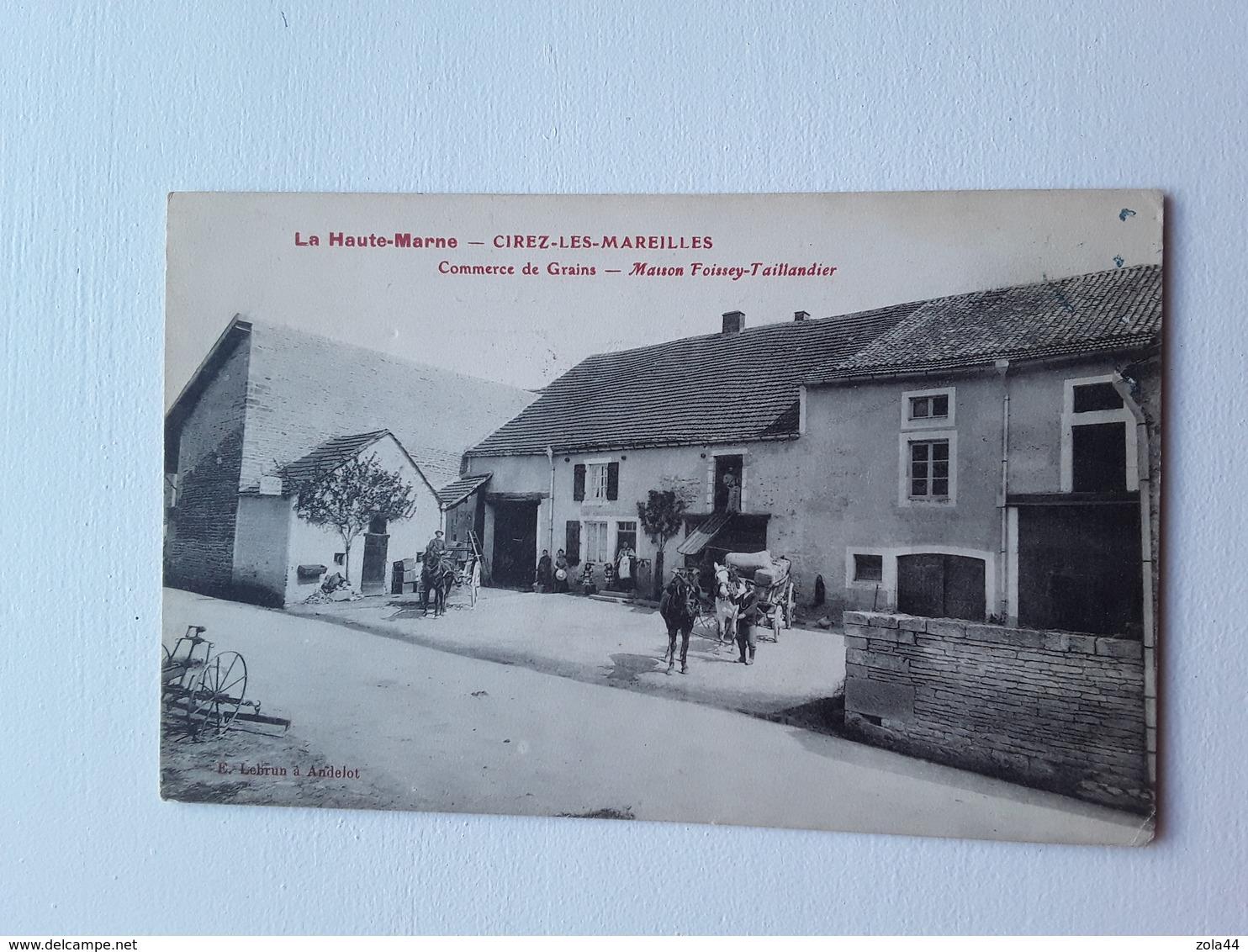 Cirez Les Mareilles   Maison Foissey Taillandier - France