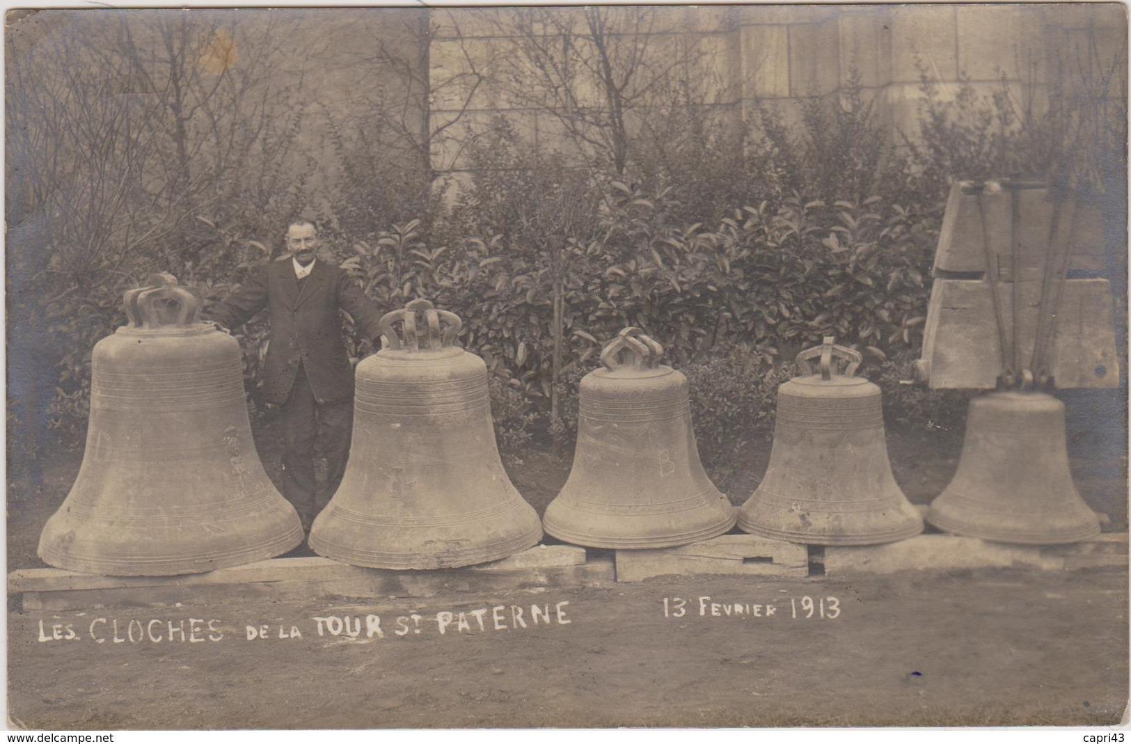45 - LOIRET - Orléans - Les Cloches De La Tours St Paterne - Orleans