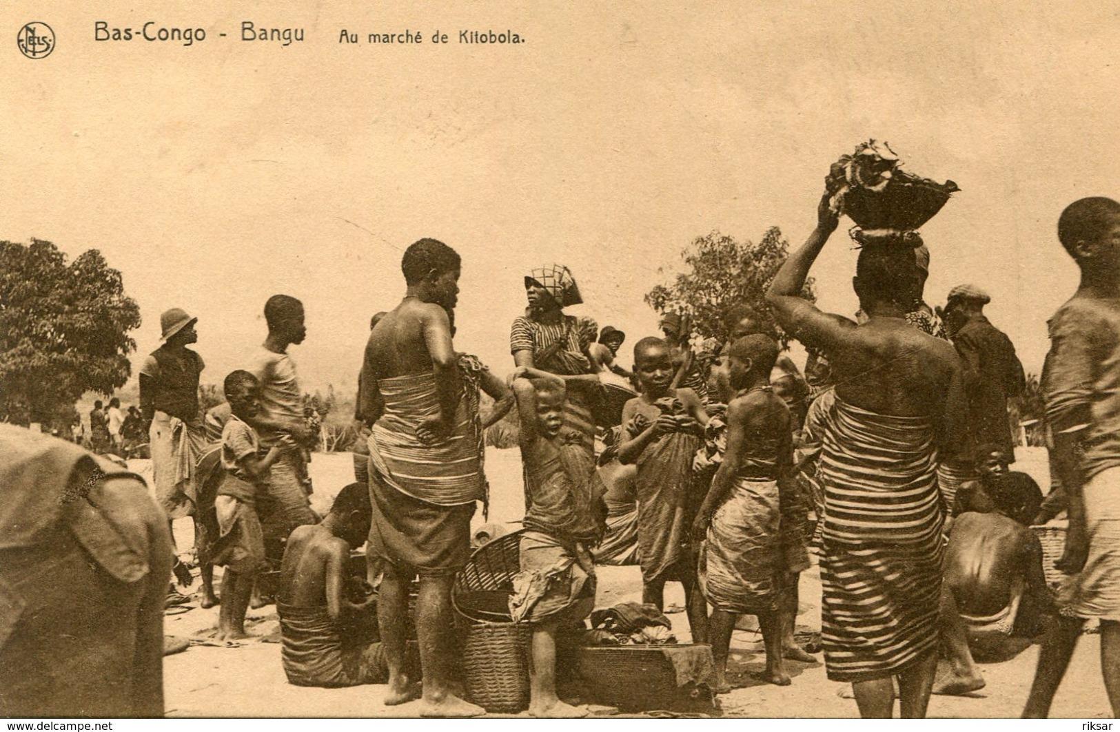 CONGO BELGE(BANGU) TYPE - Congo Belga - Otros